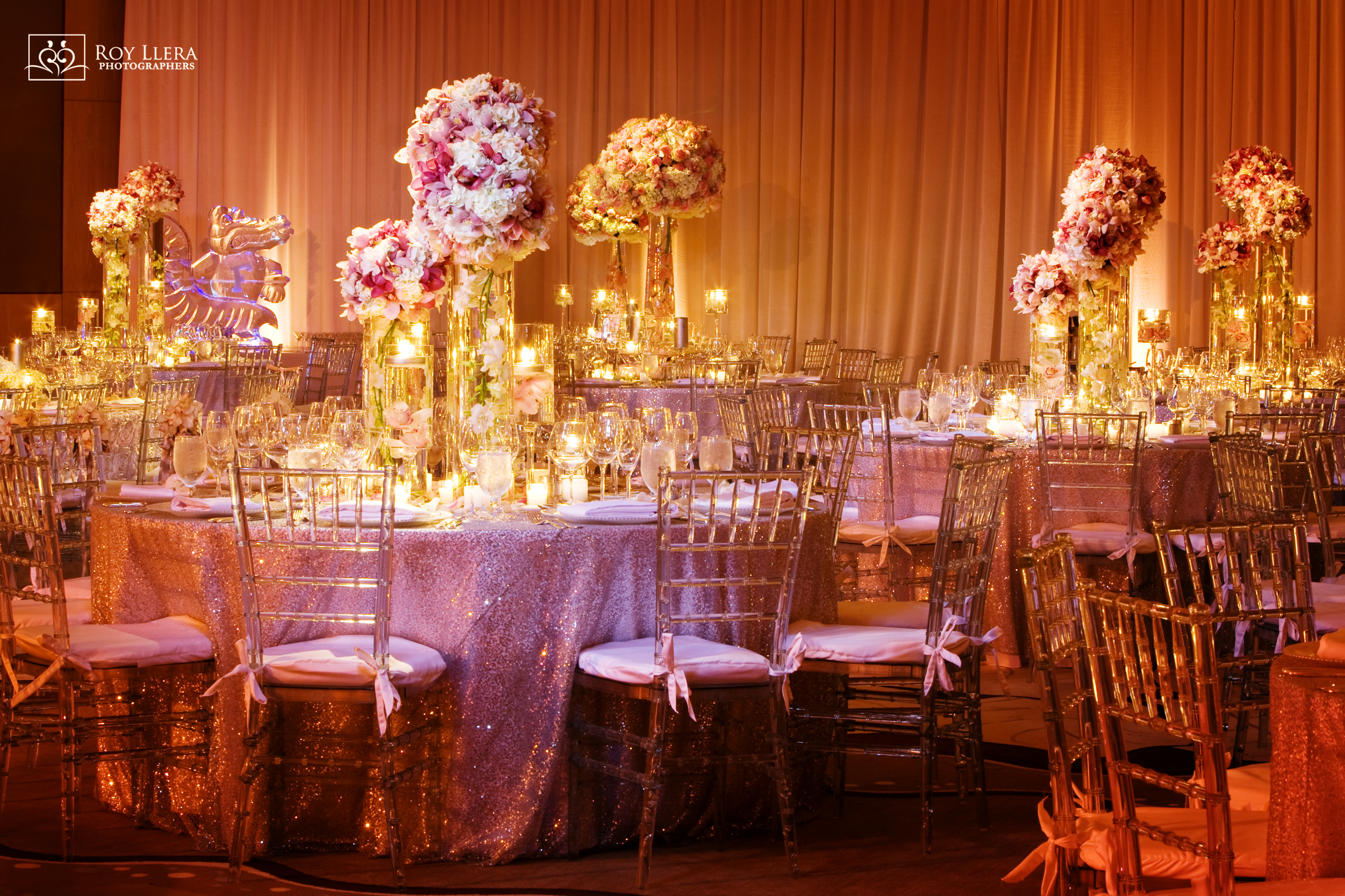 Elegant Glam Pink South Florida Wedding - Table 6 Productions – Florida
