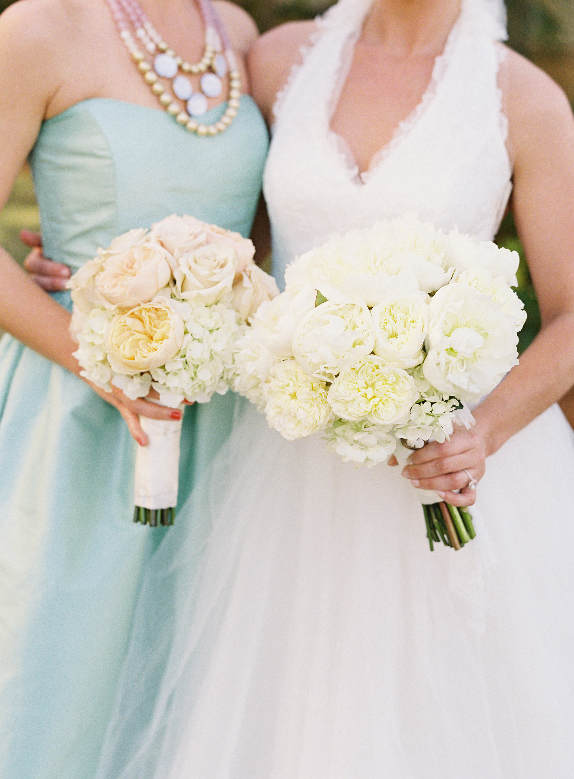 Classic White, Mint & Pink Wedding - Table 6 Productions –Florida