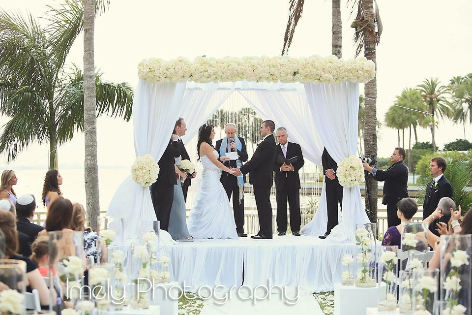Sarasota Beach Sunset Wedding - Table 6 Productions – Florida