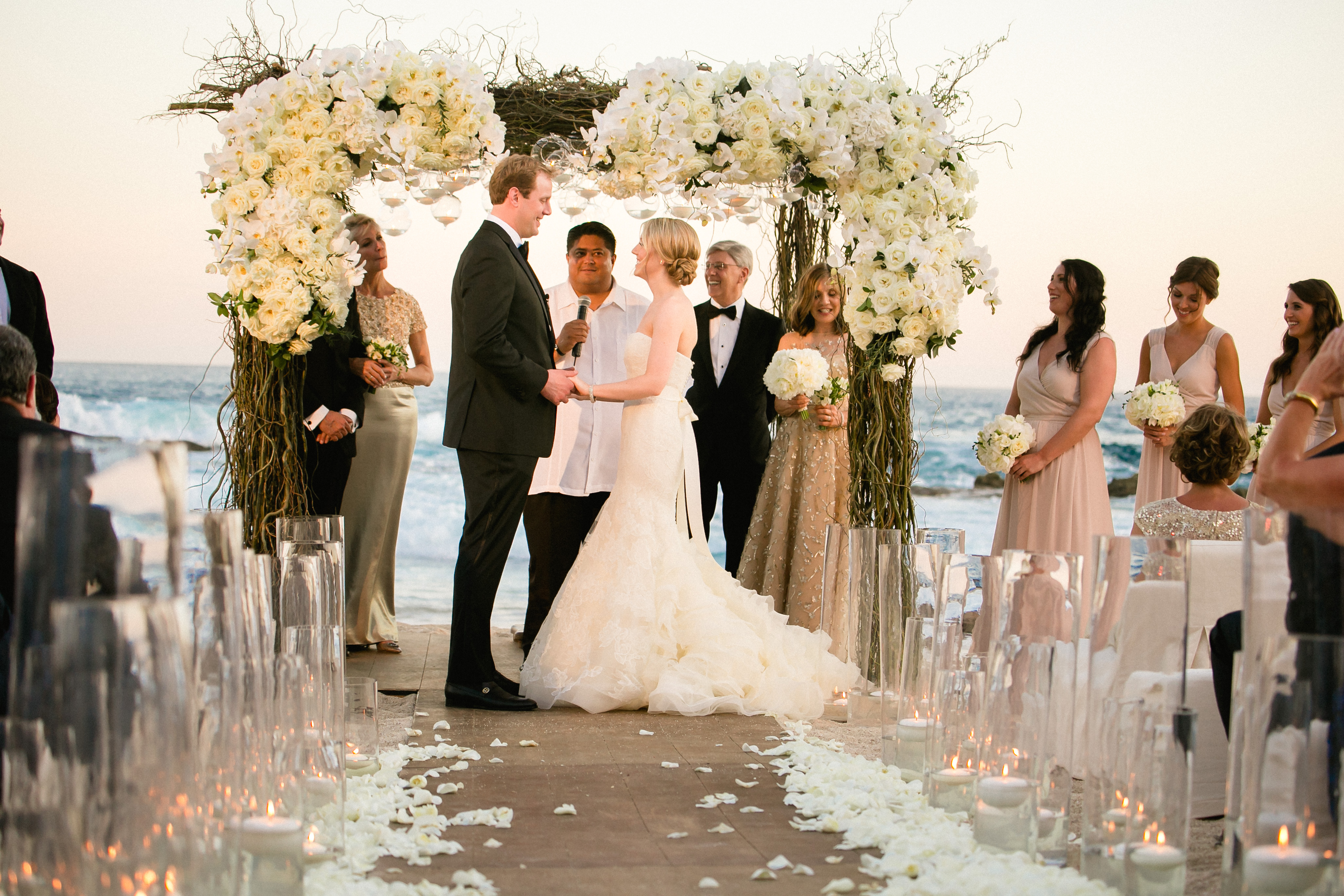 White Beach Wedding at Esperanza Resort