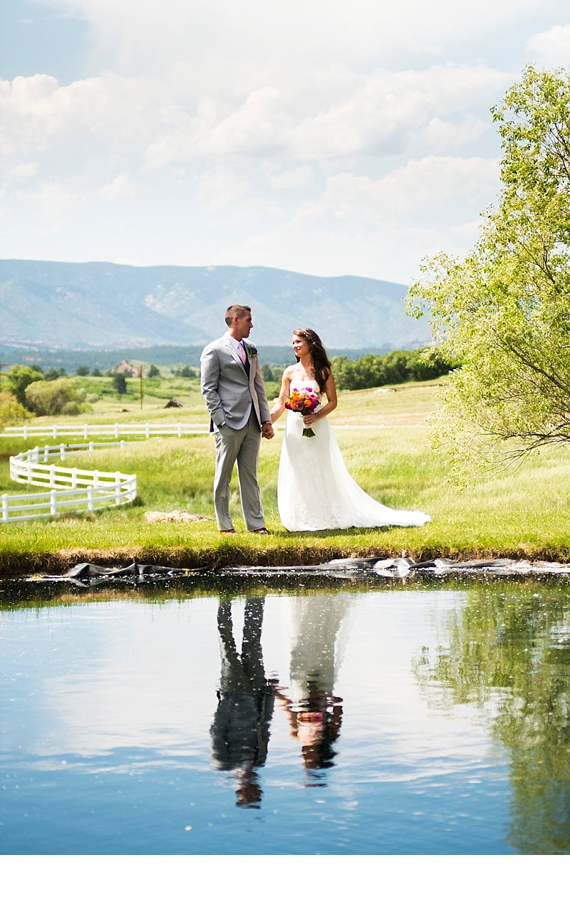 Wedding at Crooked Willow Farms - Colorado Wedding Planner - Sweetly Paired - Bright Wedding - Vintage Wedding - Summer Wedding