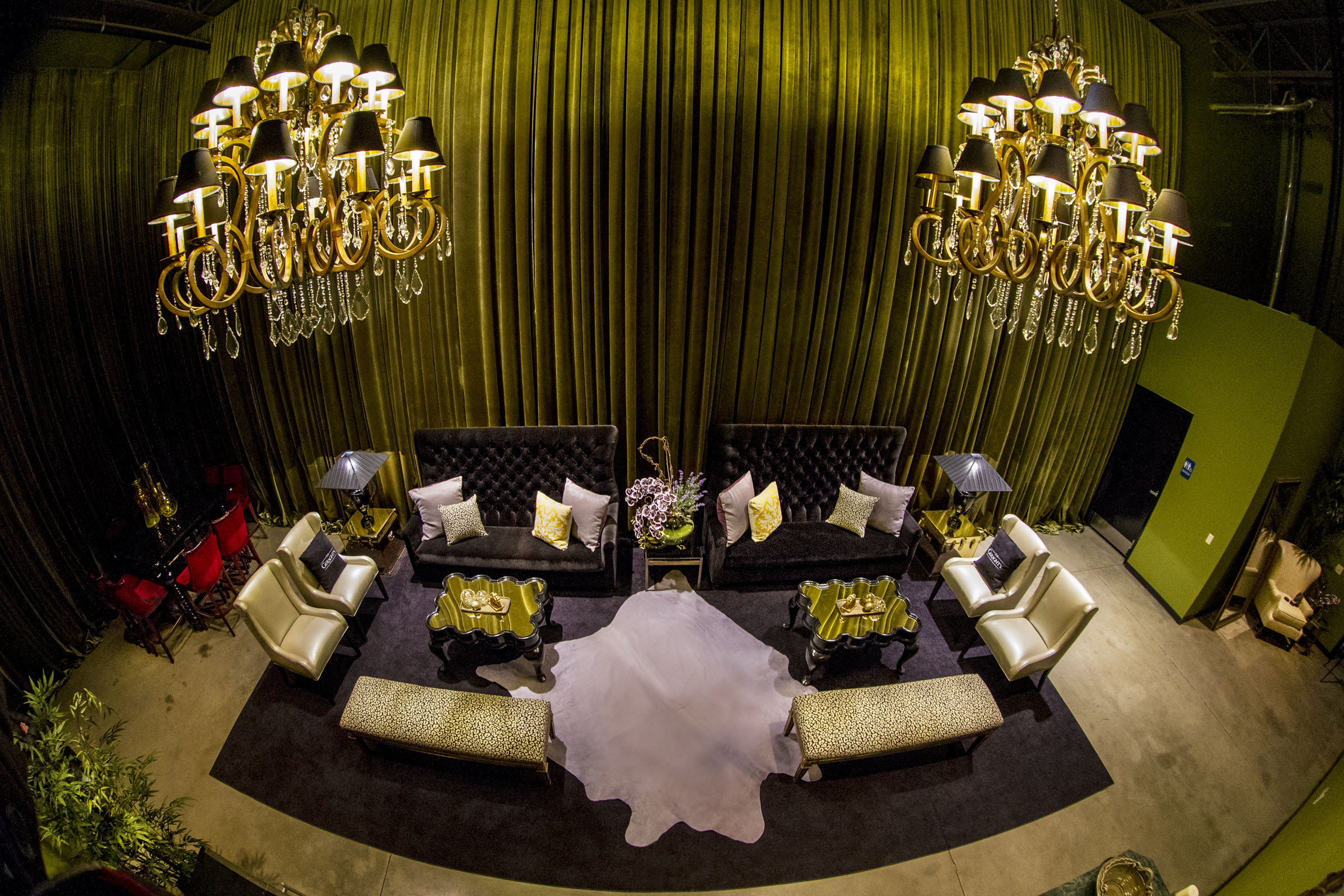 The VIP Green Room