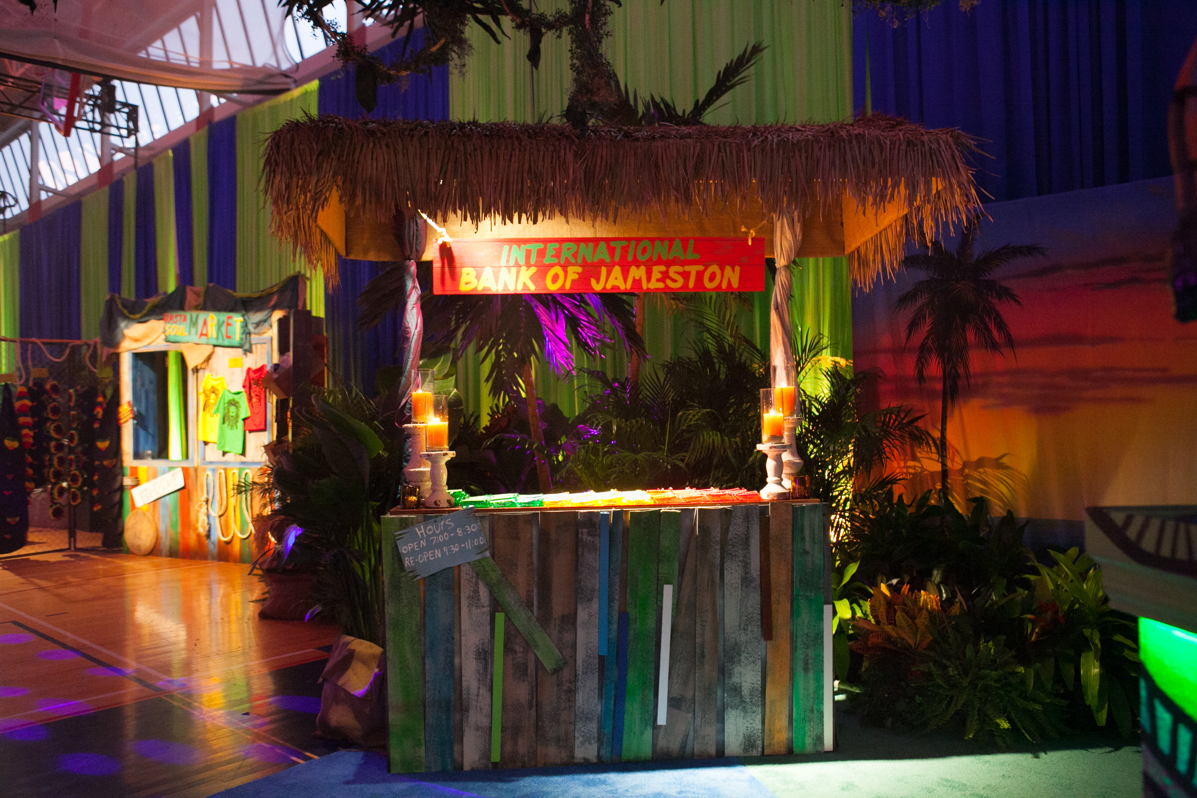Jamaican Theme Bar Mitzvah - Paulette Wolf Events