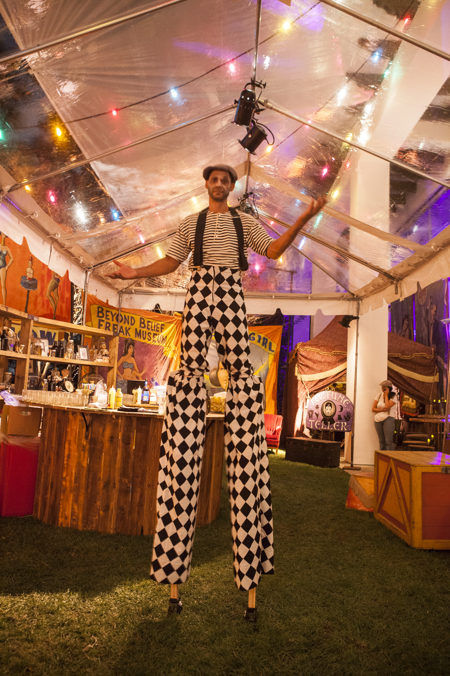 Carnival Freakshow Halloween Party - Kristin Banta Events