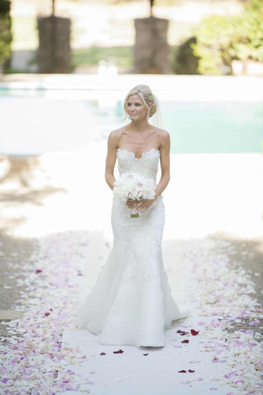 Gorgeous bride, always sophisticated and composed