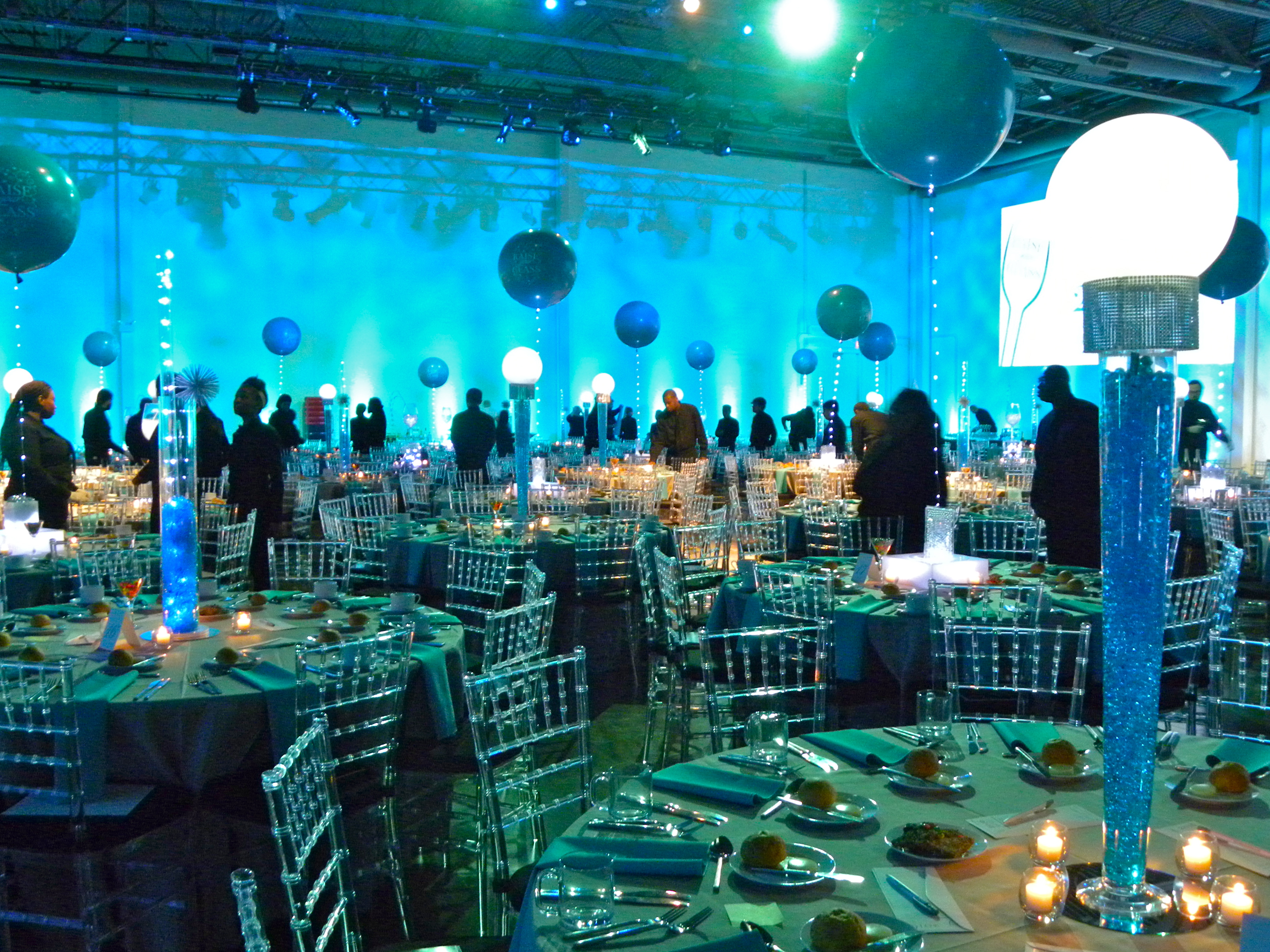 "Gala fundraiser, ""Raise Your Glass"" at Venue One North Shore - Kleifield Design & Associates, Inc."