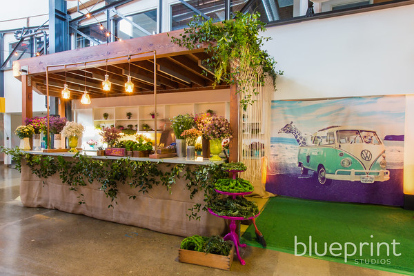Bohemian Chic Corporate Event - Blueprint Studios