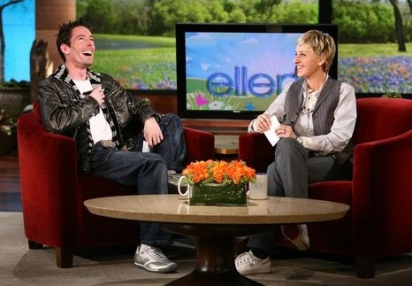 Wayne on The Ellen DeGeneres Show