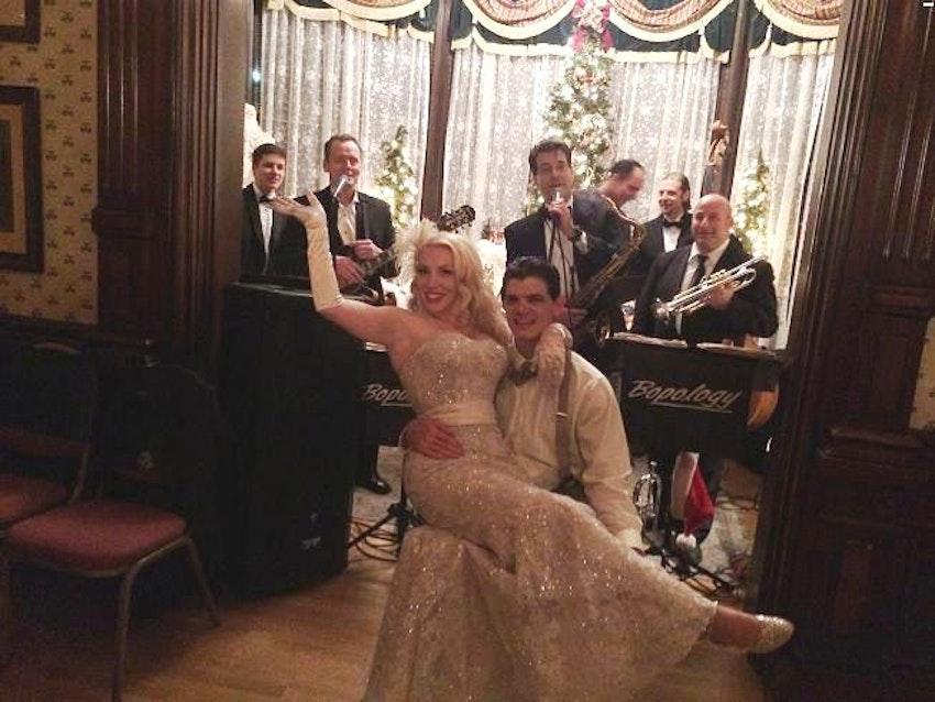 Bopology Chicago Swing Wedding Band Bopology Retro Themed Weddings