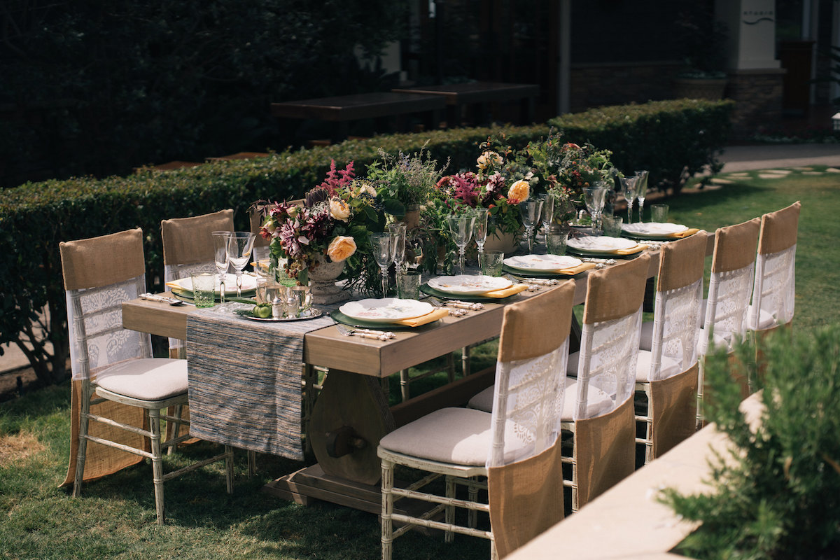 Urban, Rustic Chic Soiree - Blueprint Studios