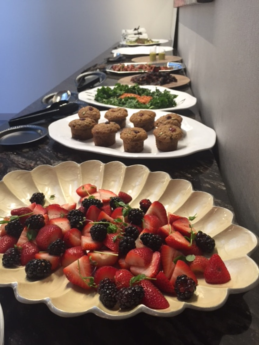 Brunch Buffet for a Corporate Client's Team Building Meeting