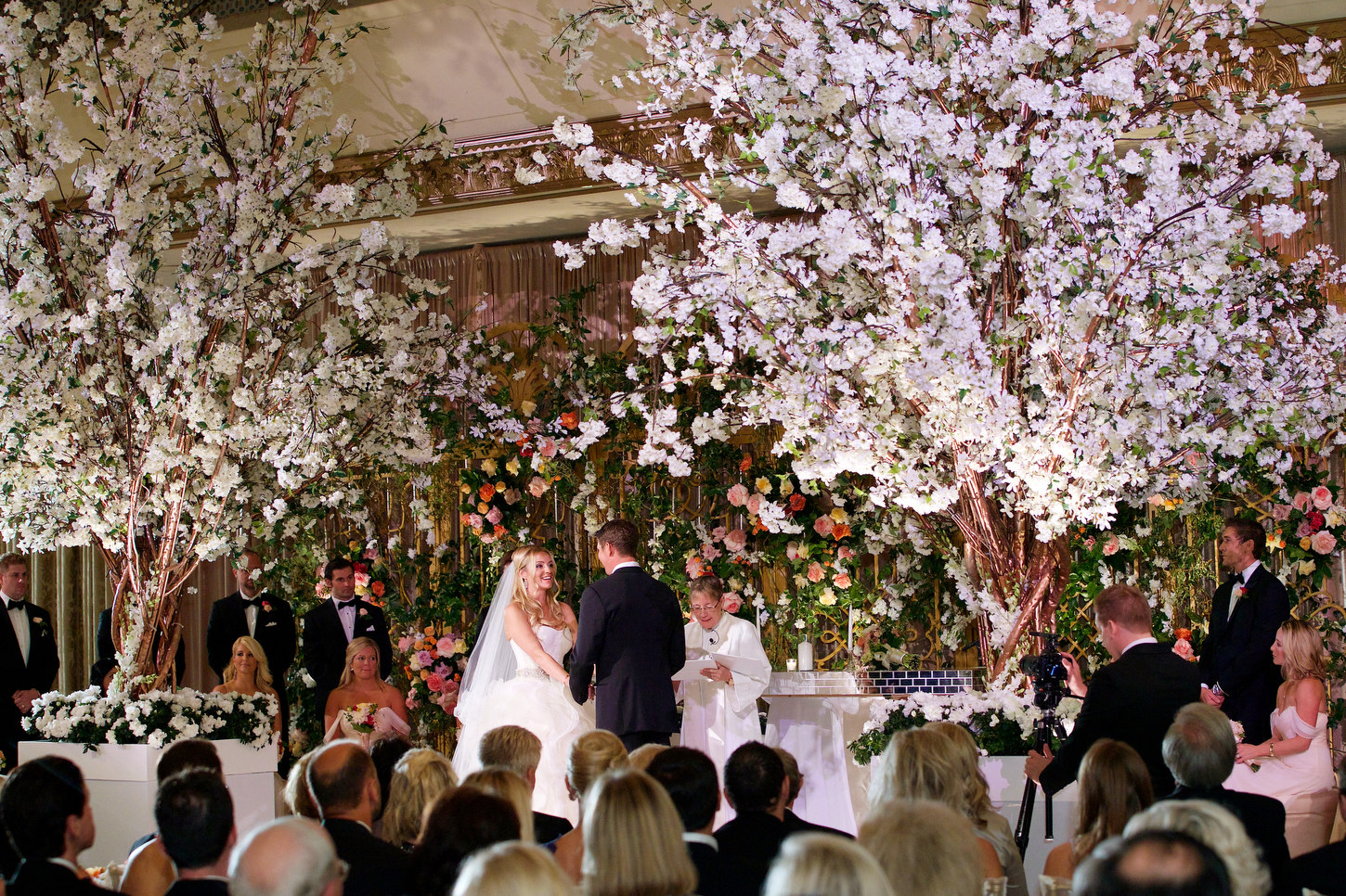 Luxurious Garden Wedding | Ritz-Carlton | Chicago - Bob & Dawn Davis Photography & Design