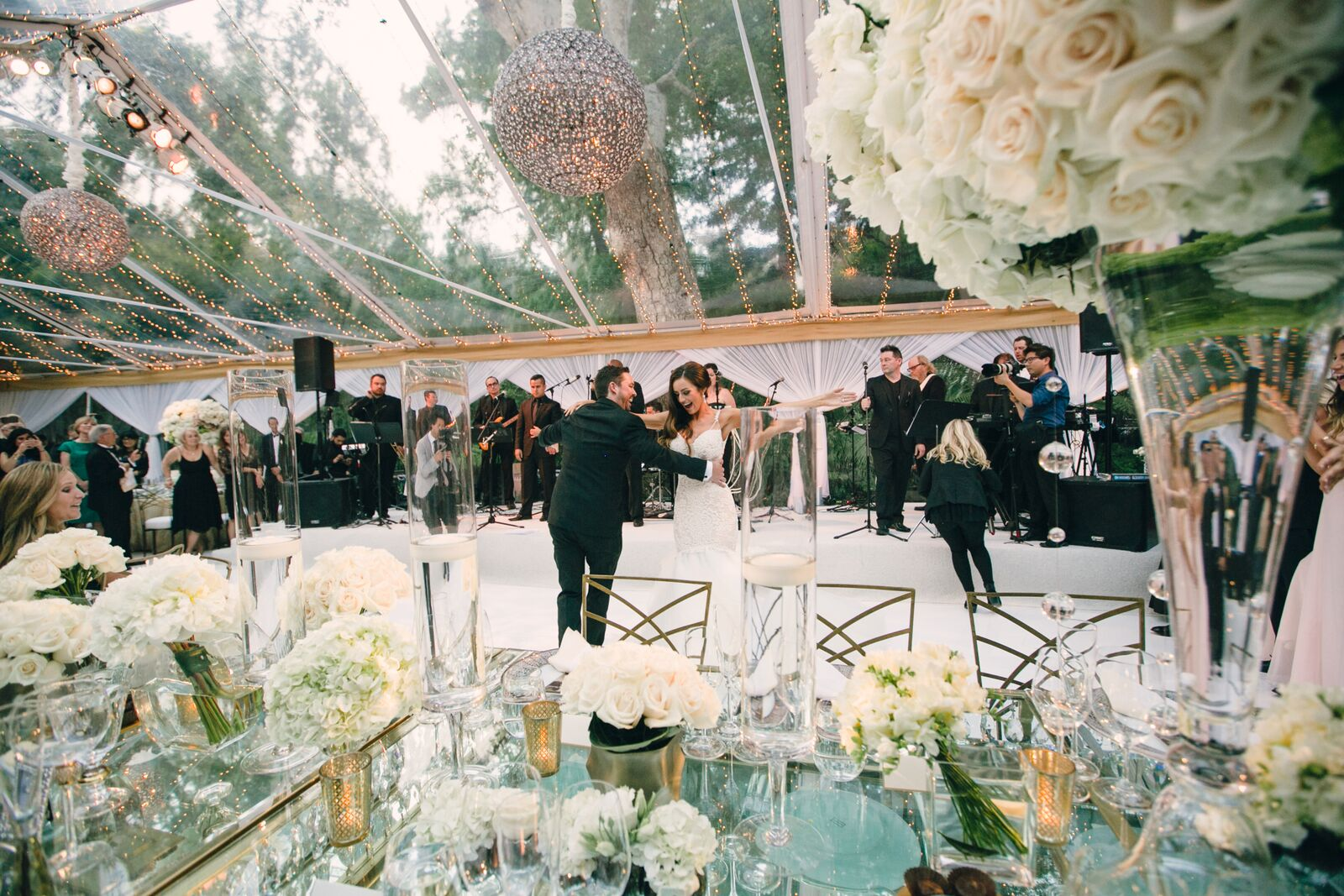 Elegant White Bel-Air Wedding - Linda Howard Events