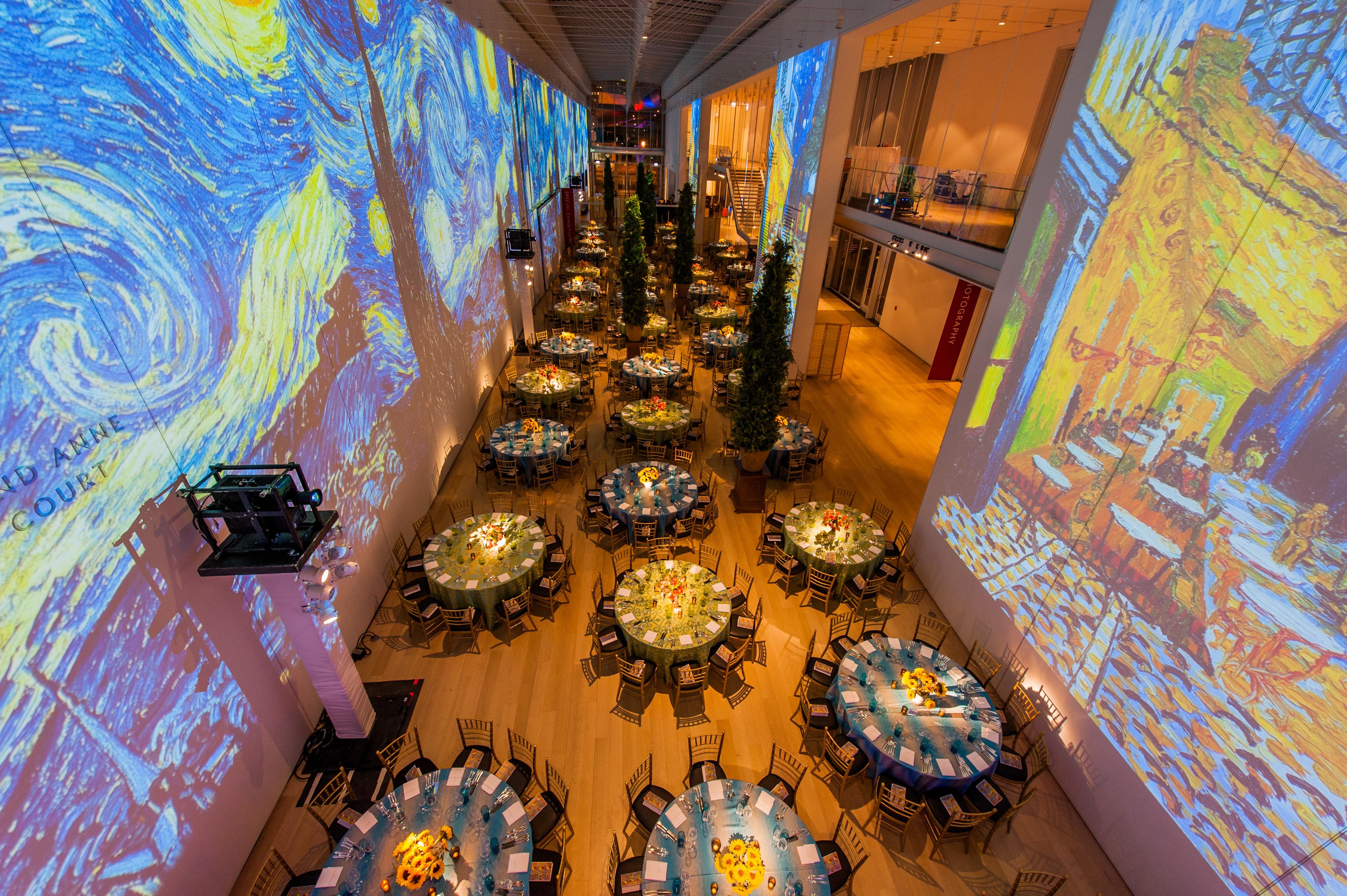 Van Gogh Opening Gala 2016 - HMR Designs