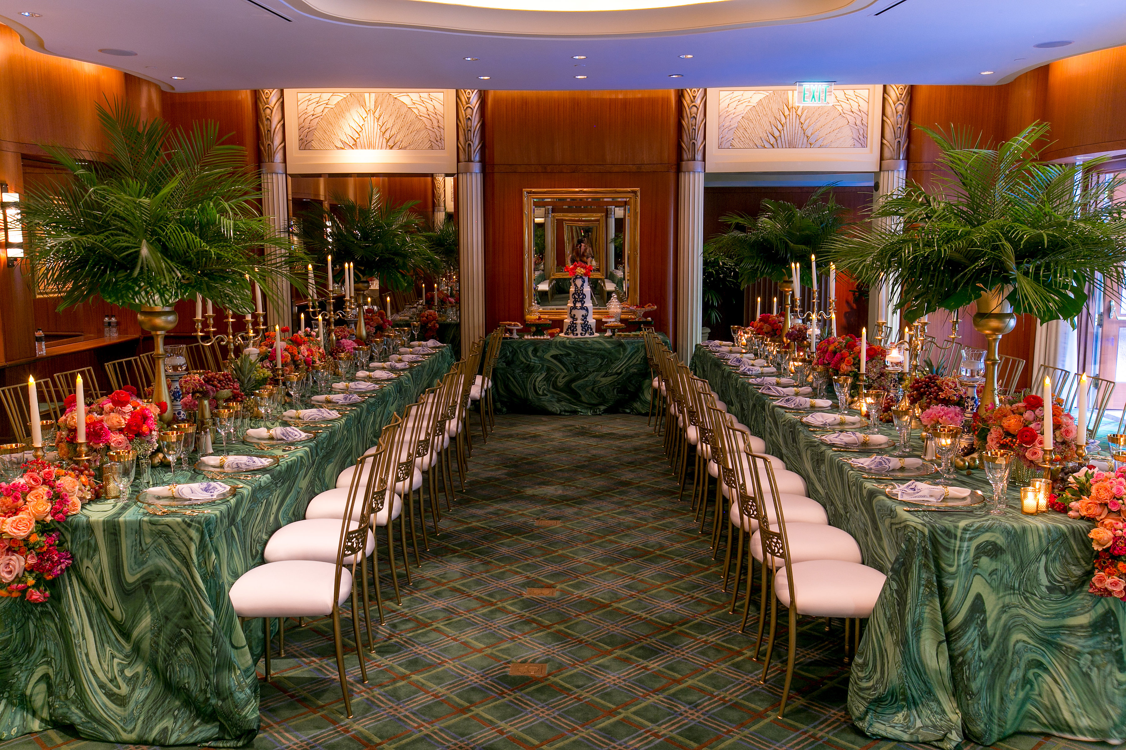 Tropical Inspired Polo Lounge Birthday - Aliana Events