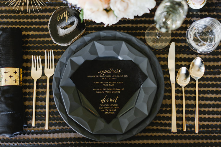 Kate Spade-Inspired Dinner Party - Taste of Pace Catering