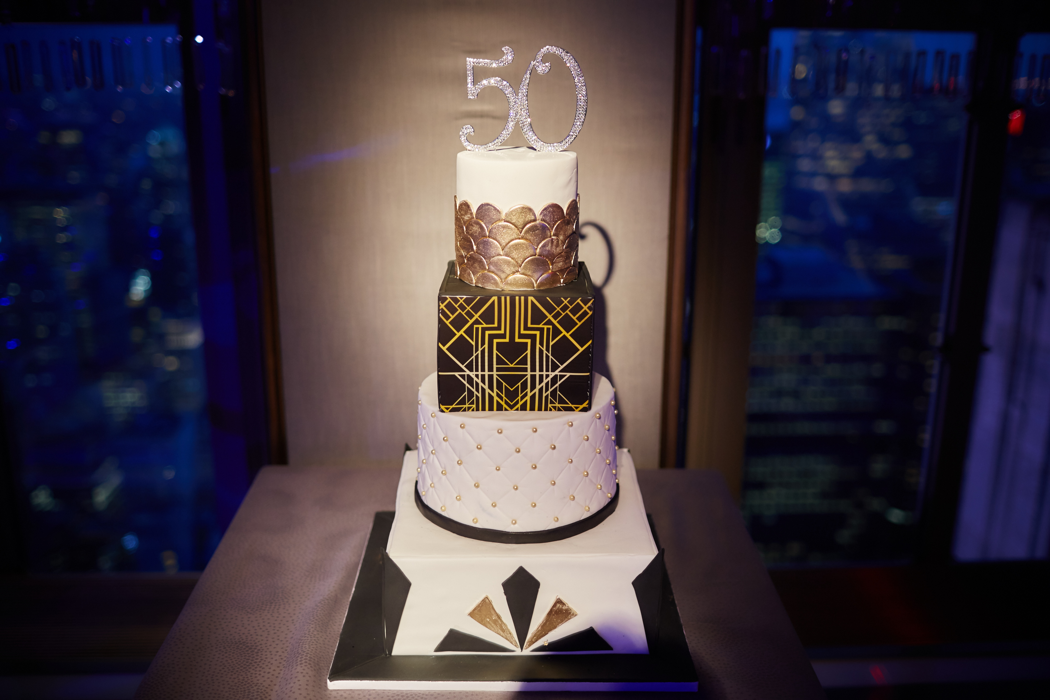 Fabulous 50th Bash at Rainbow Room - Amy Katz Events