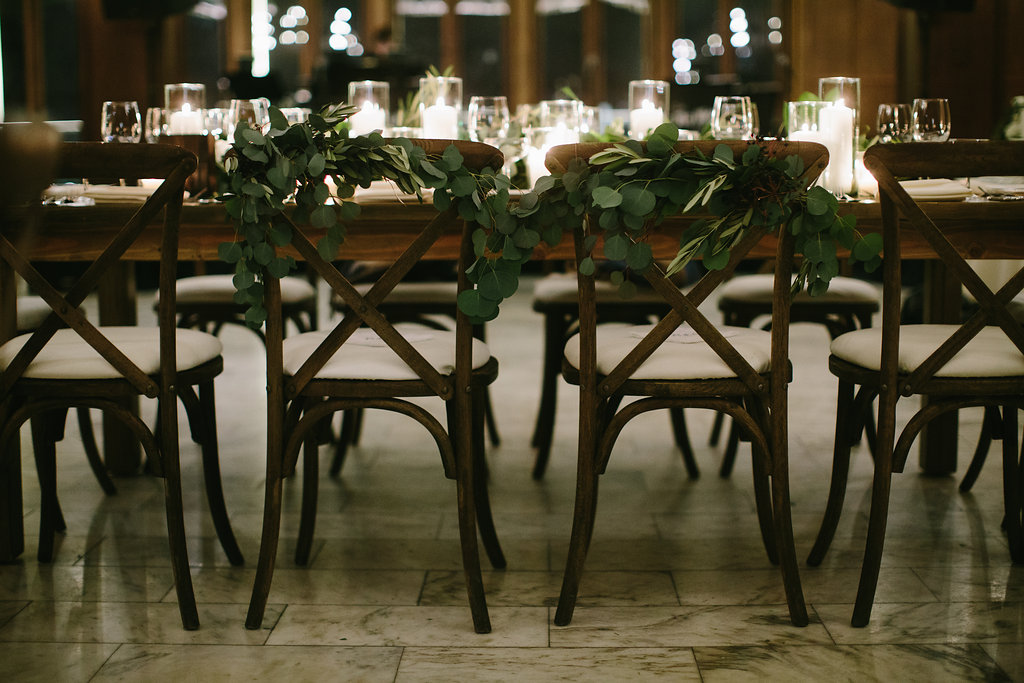 Candlelit Chicago Athletic Association Wedding - Shannon Gail Events