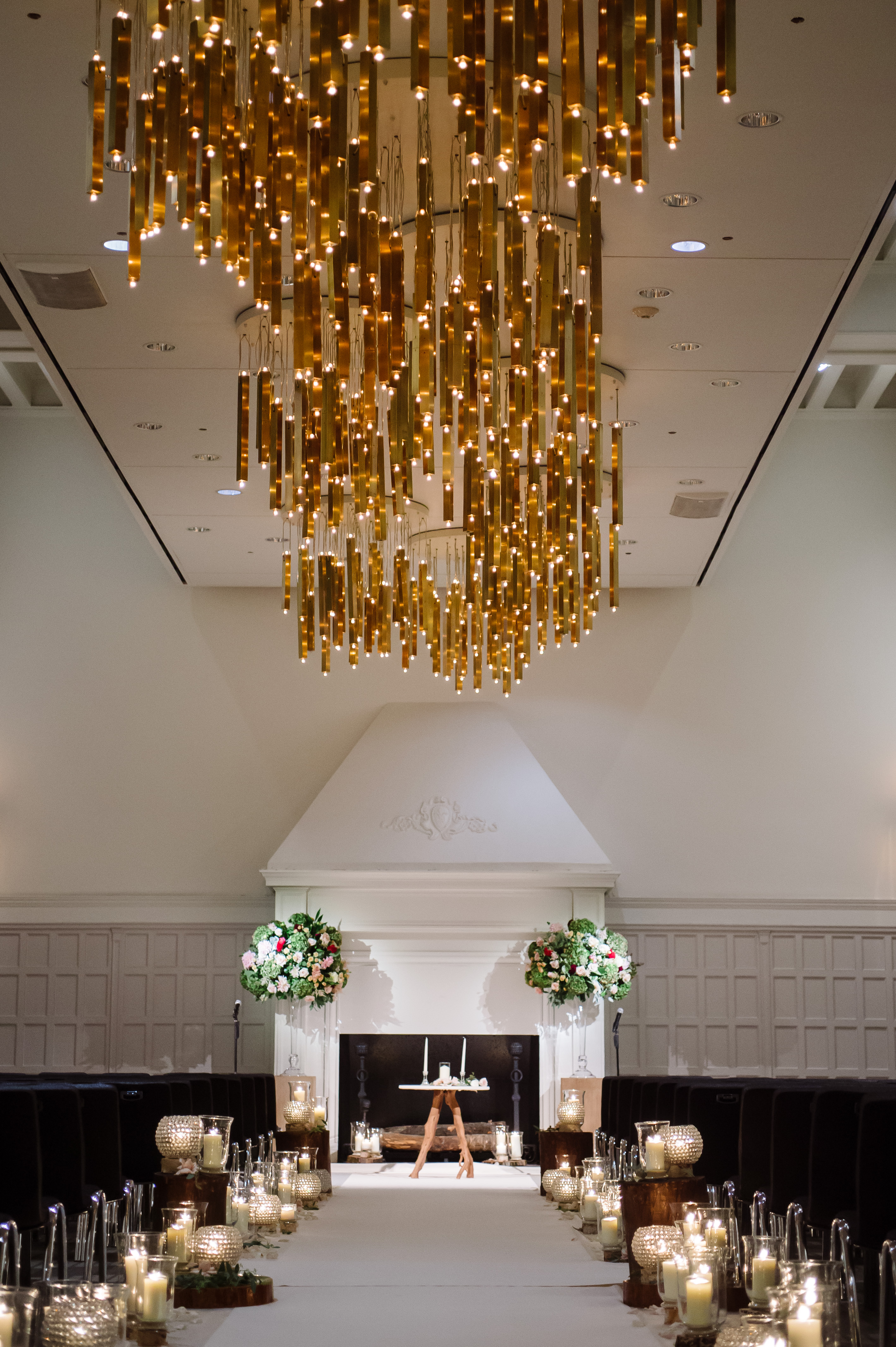 Rustic + Contemporary Elegant Ballroom Wedding - Shannon Gail Events