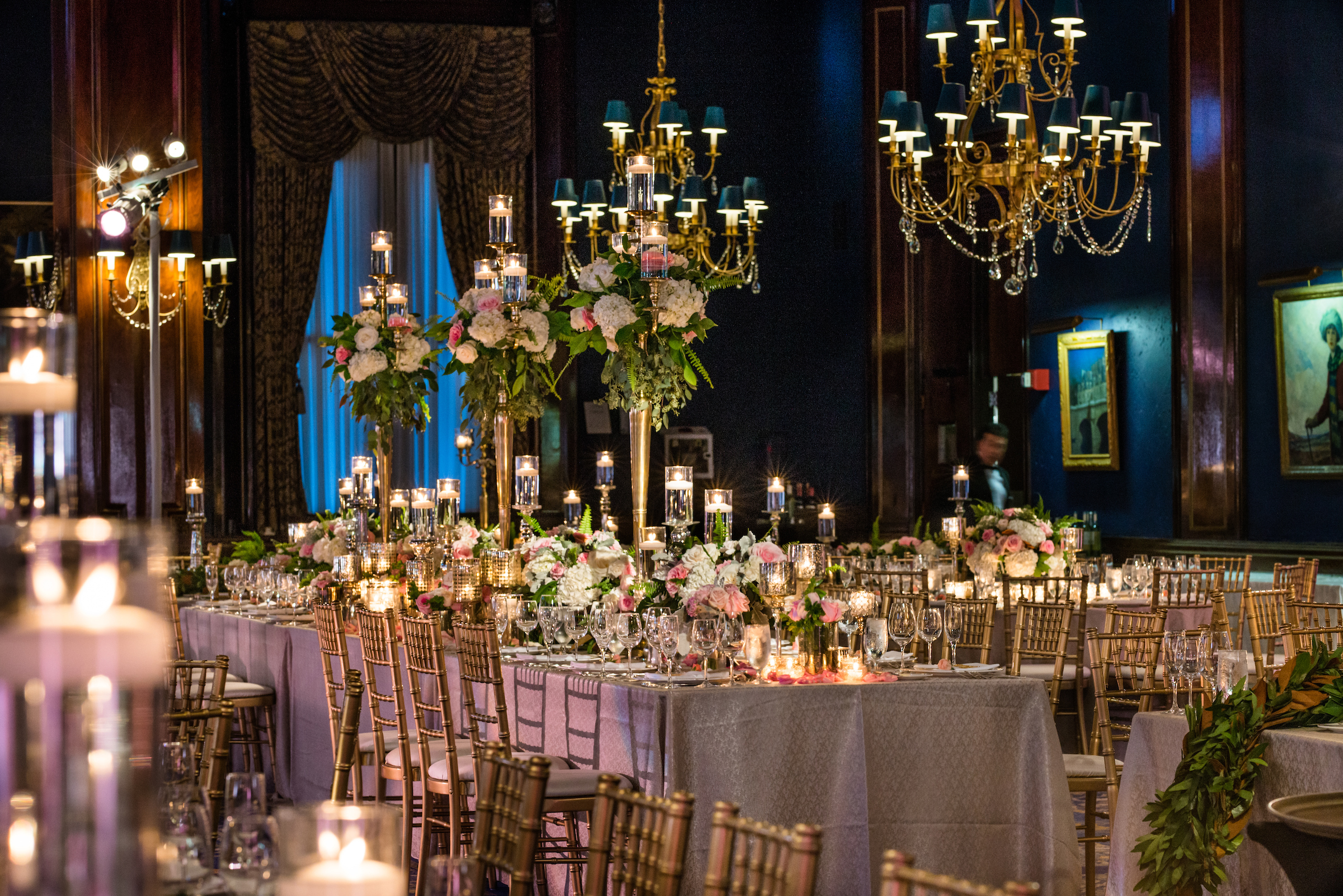 Grand Wedding Featuring Dramatic Decor - Shannon Gail Events