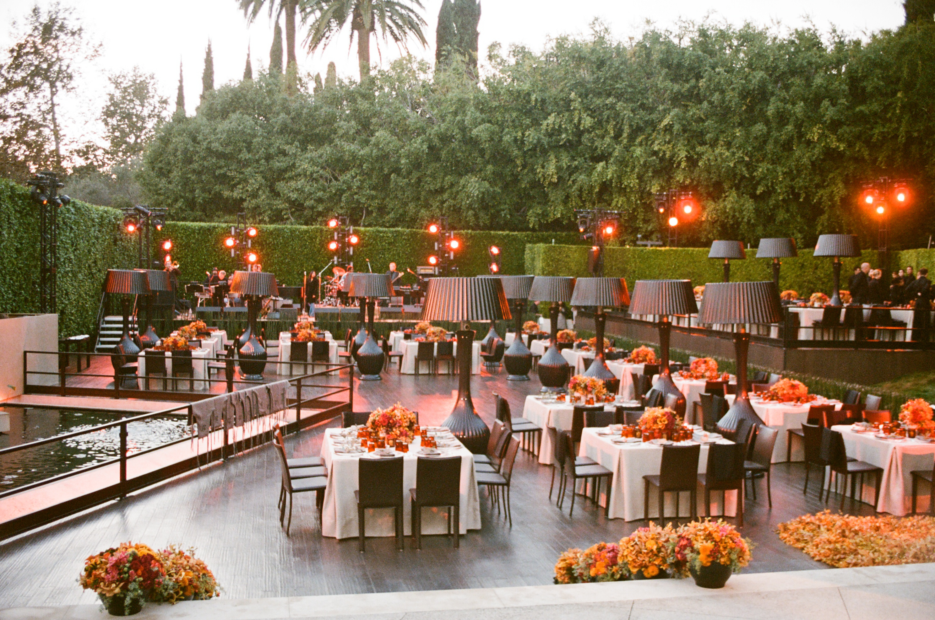 Outdoor Wedding Reception in LA - Paulette Wolf Events