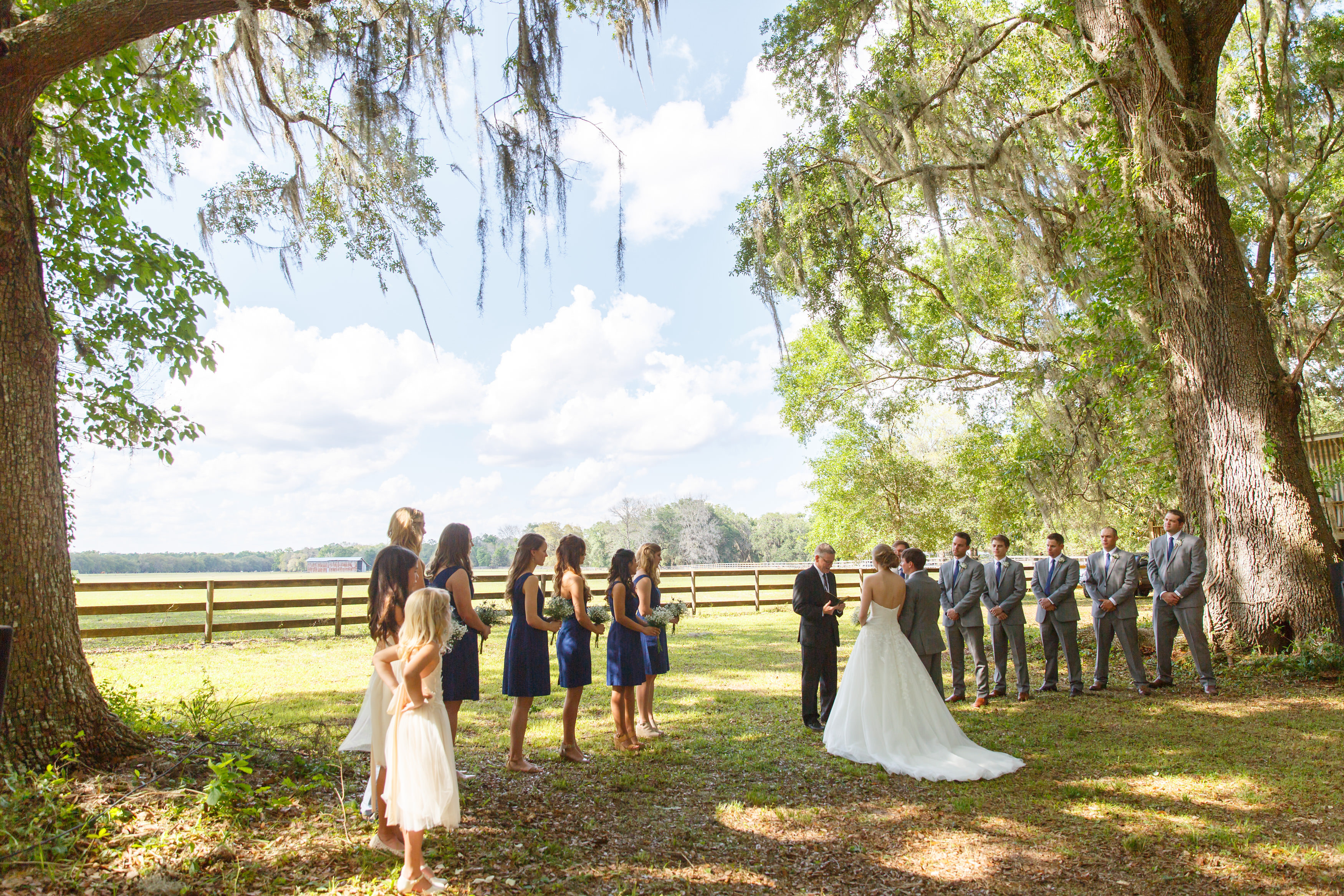 Romantic Rustic Wedding - Table 6 Productions – Florida
