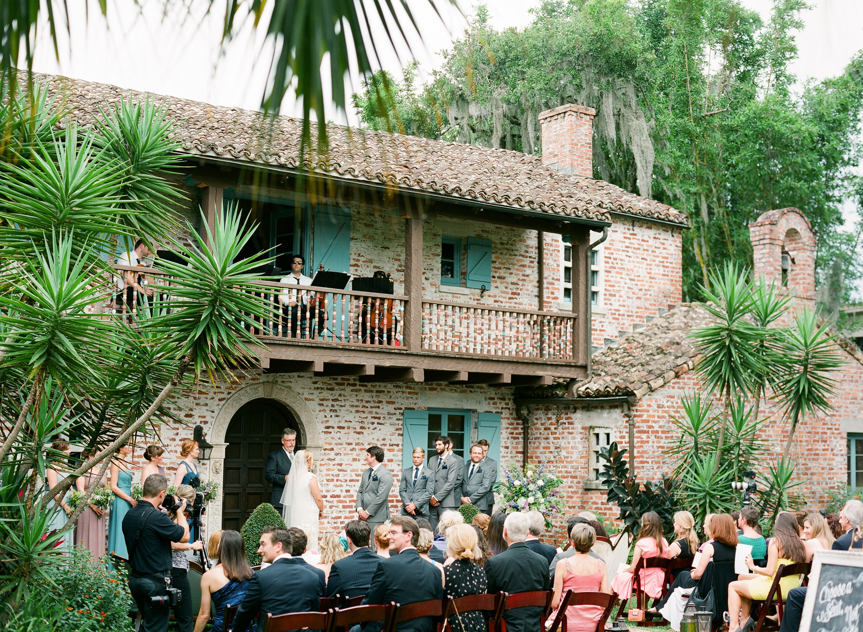 Vintage Garden Wedding at Casa Feliz - Table 6 Productions – Florida