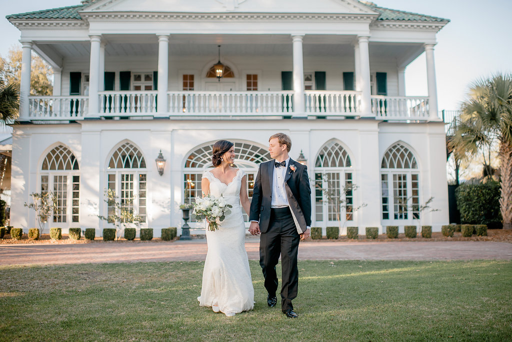 Erica + Burke, Lowndes Grove - RLE Charleston