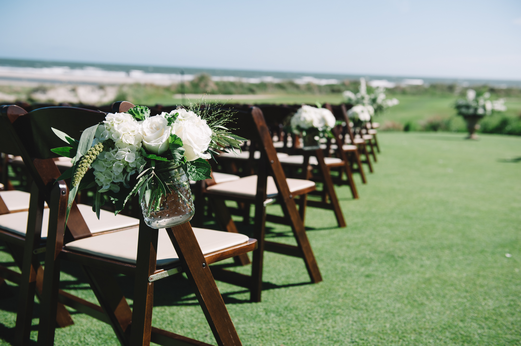 Margaret + Brad's Romantic White Wedding - Jennings King Photography