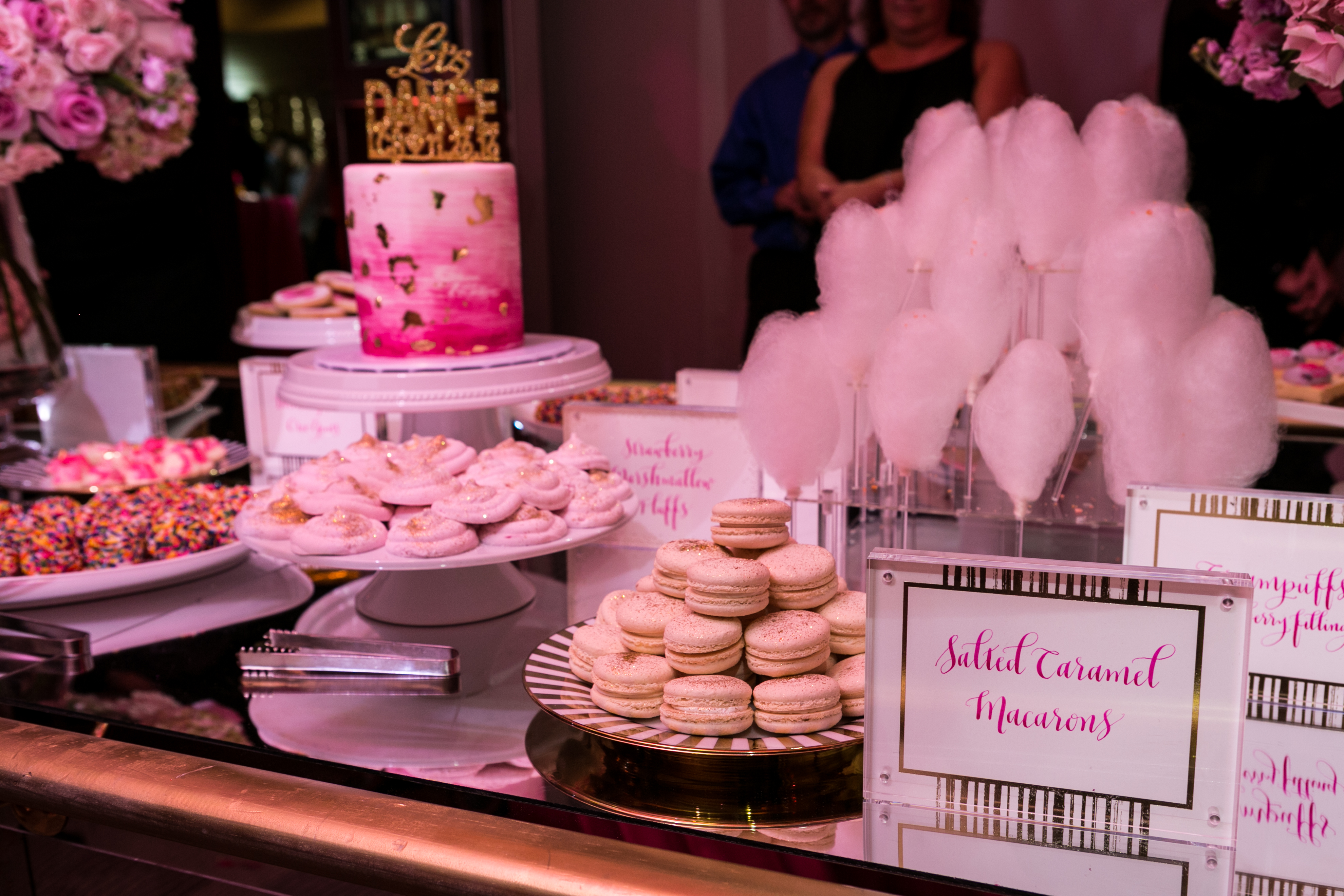 Ballet Pink Bat Mitzvah - Magnolia Bluebird design & events