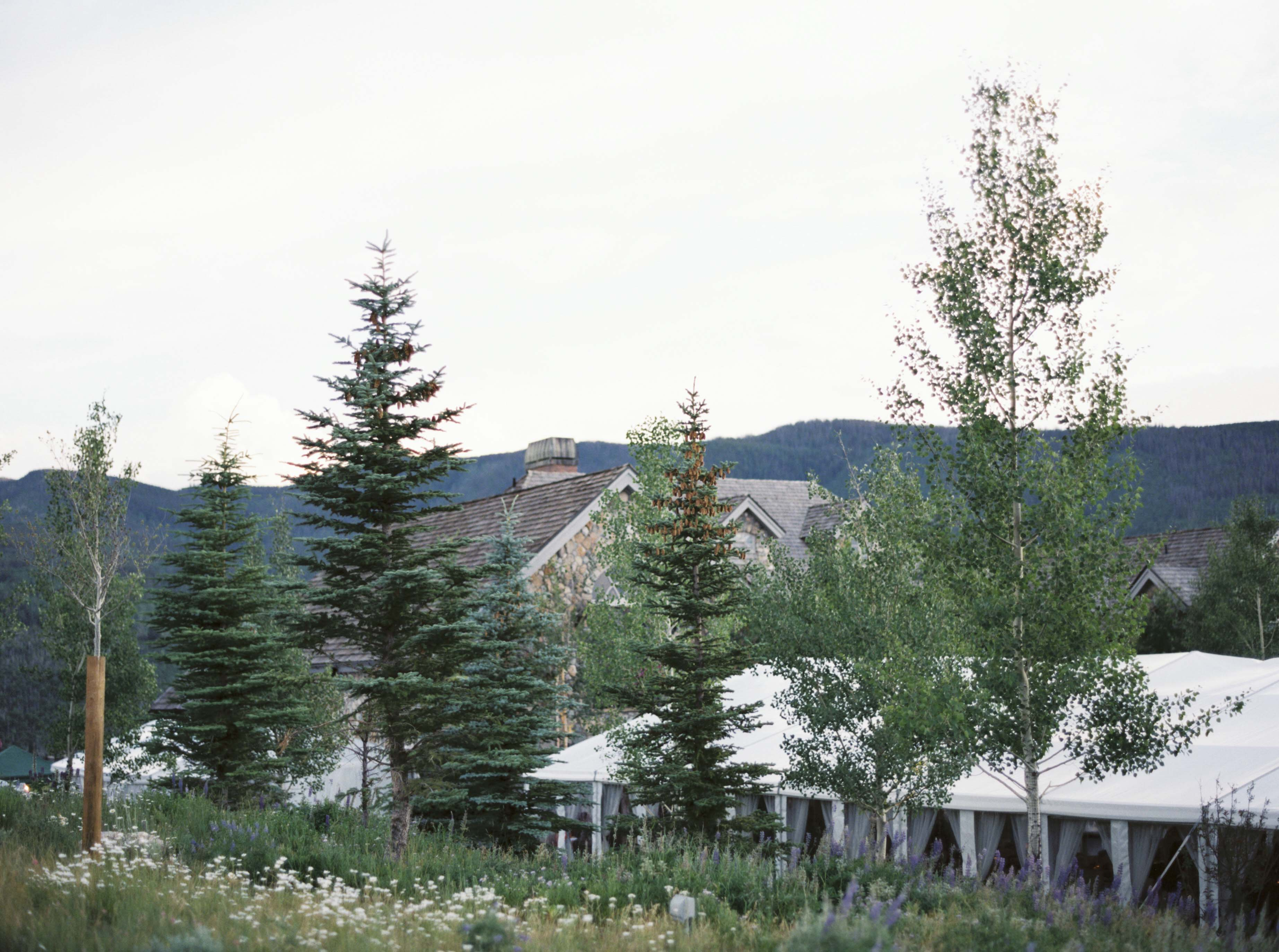 Tented 50th Birthday Party in Vail - Emily Clarke Events