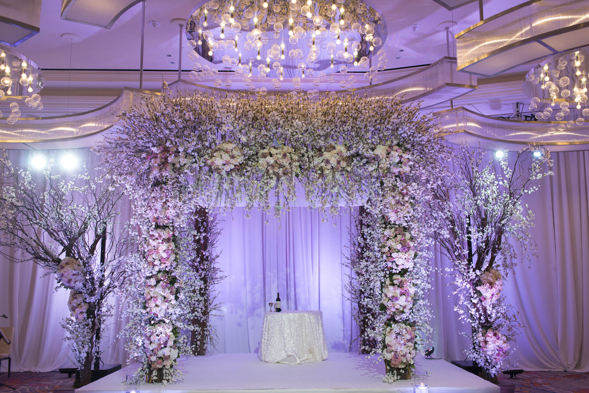 Pink & White Romantic Wedding - Destinations by Design