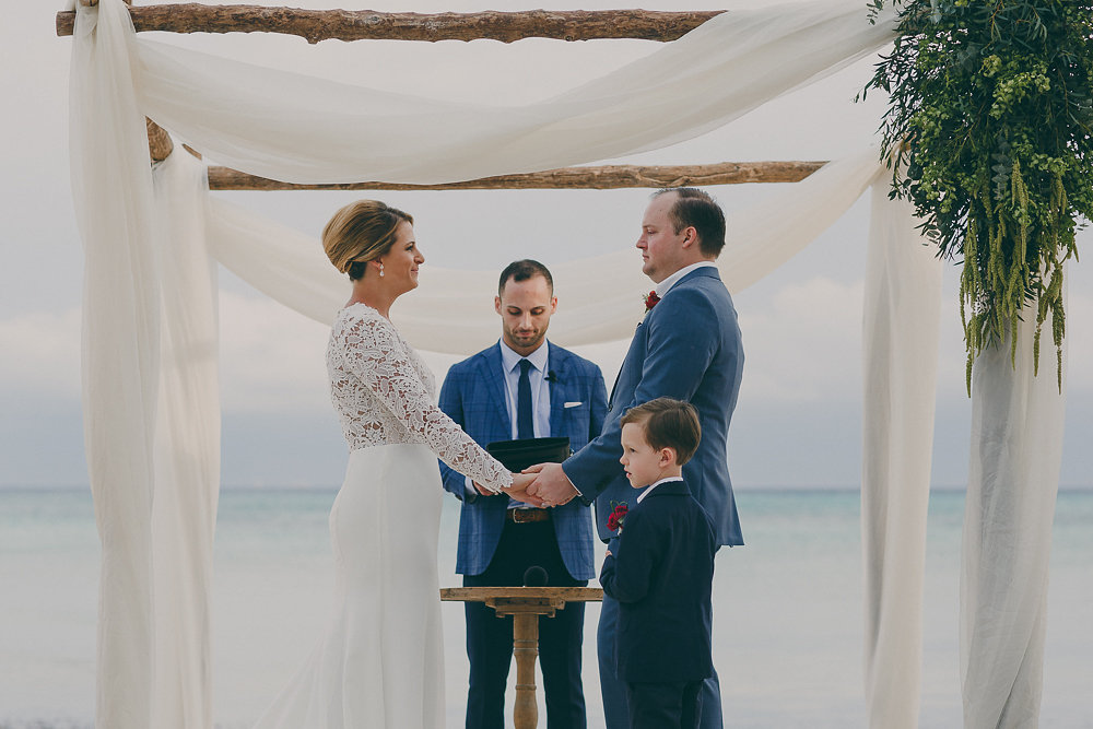 Colorful Beach Wedding - KATE & COMPANY