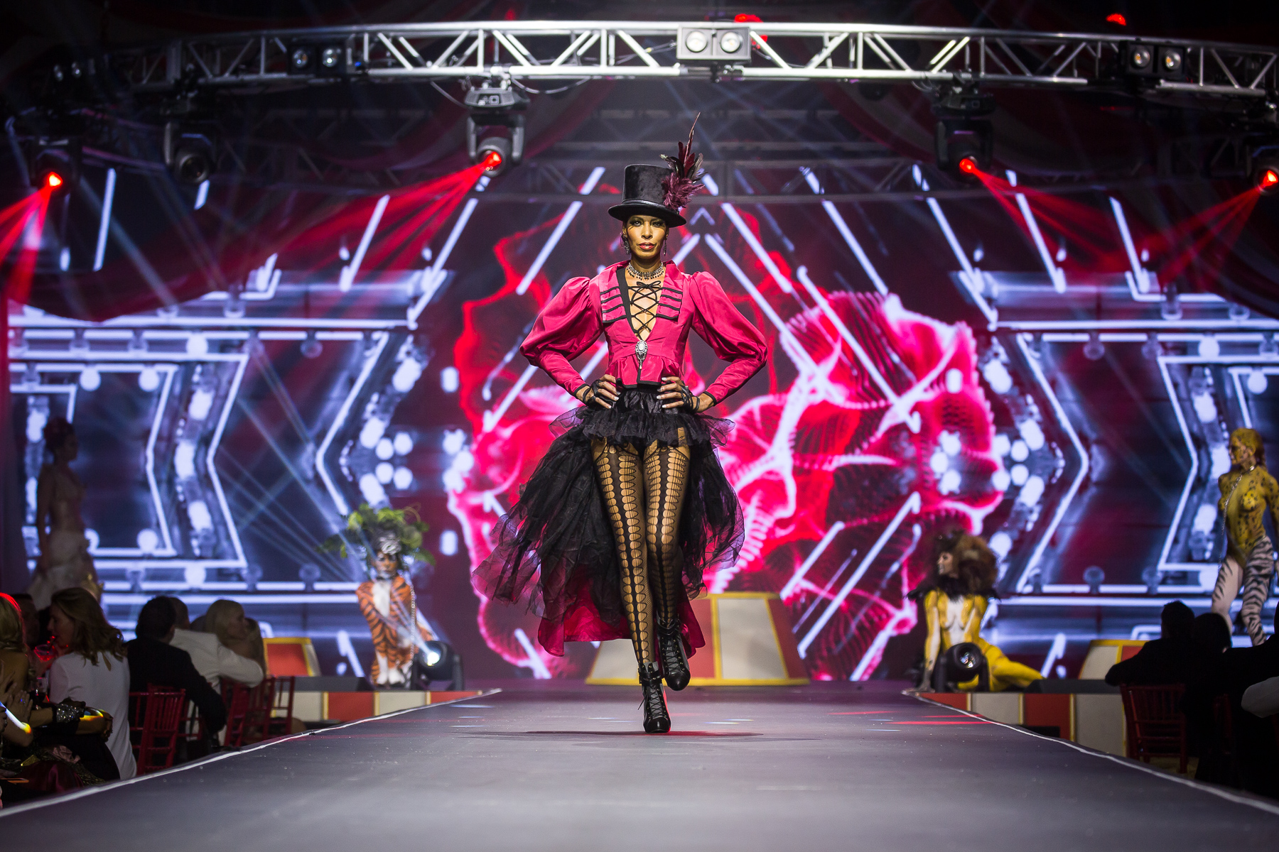 House of DIFFA: Circo Rouge 2016 - Omni Dallas Hotel