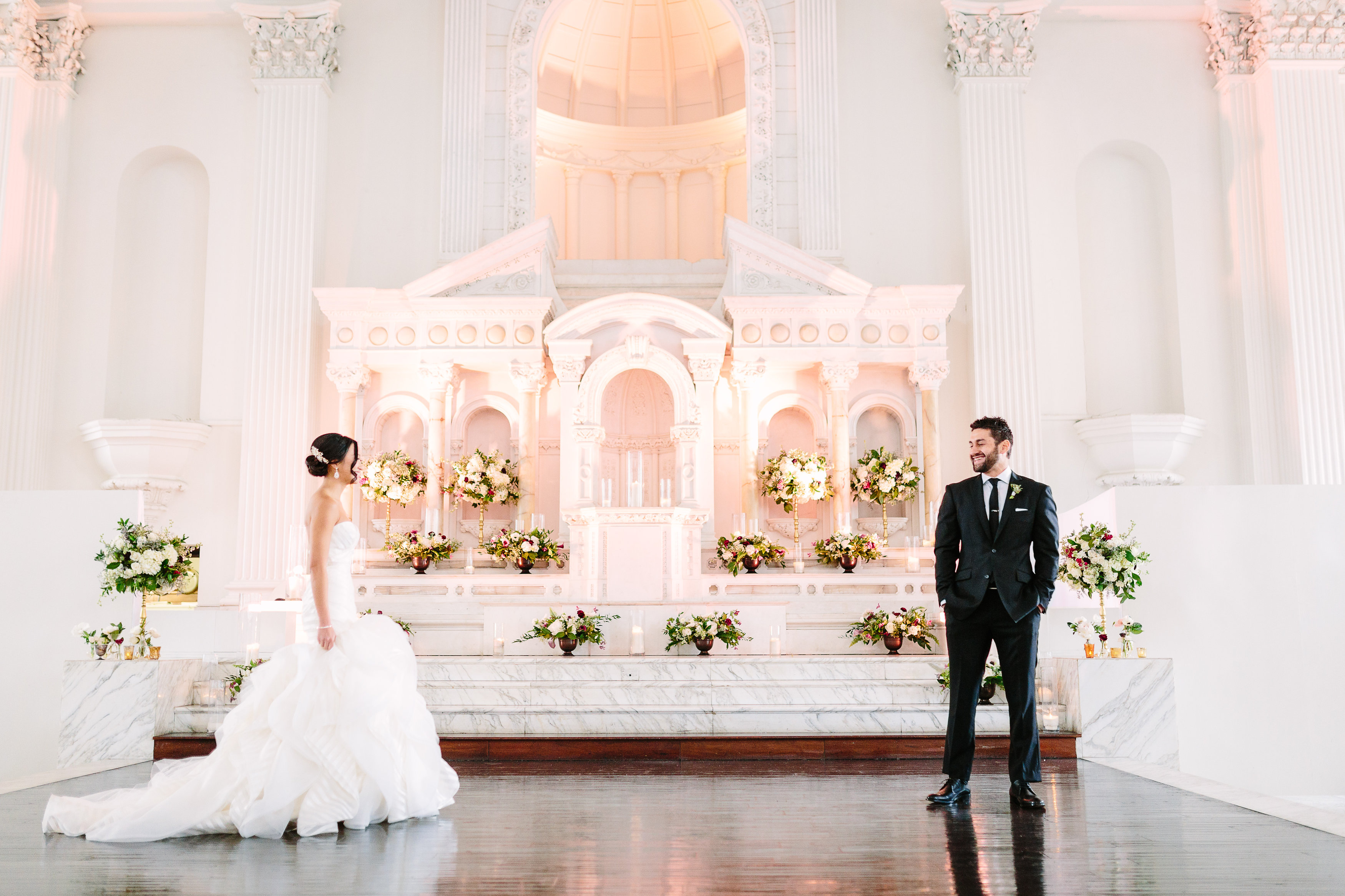 Contemporary Wedding at Vibiana - Brian Leahy Photography