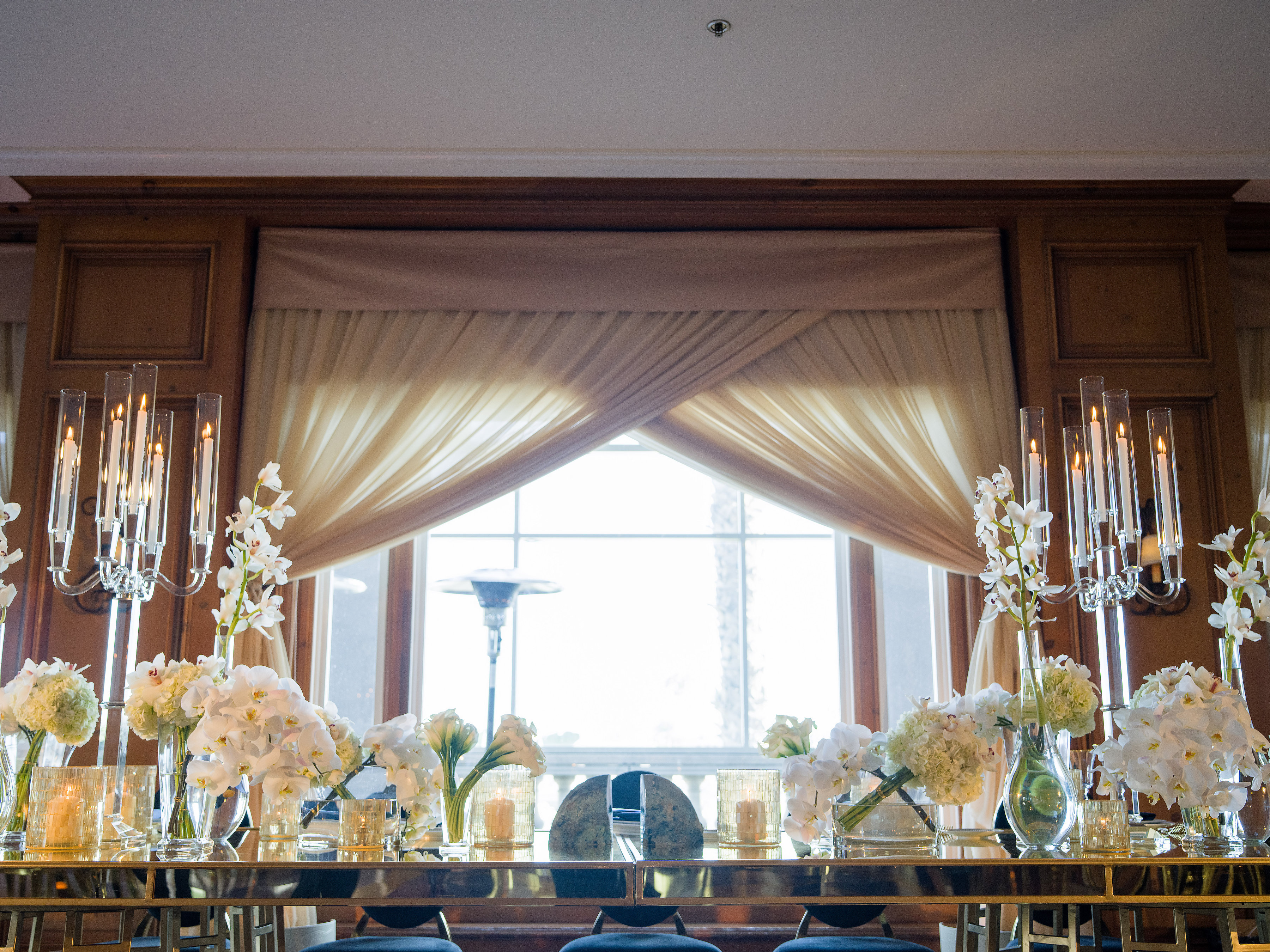 Glamorous Blue & Gold Wedding - Keith J Laverty