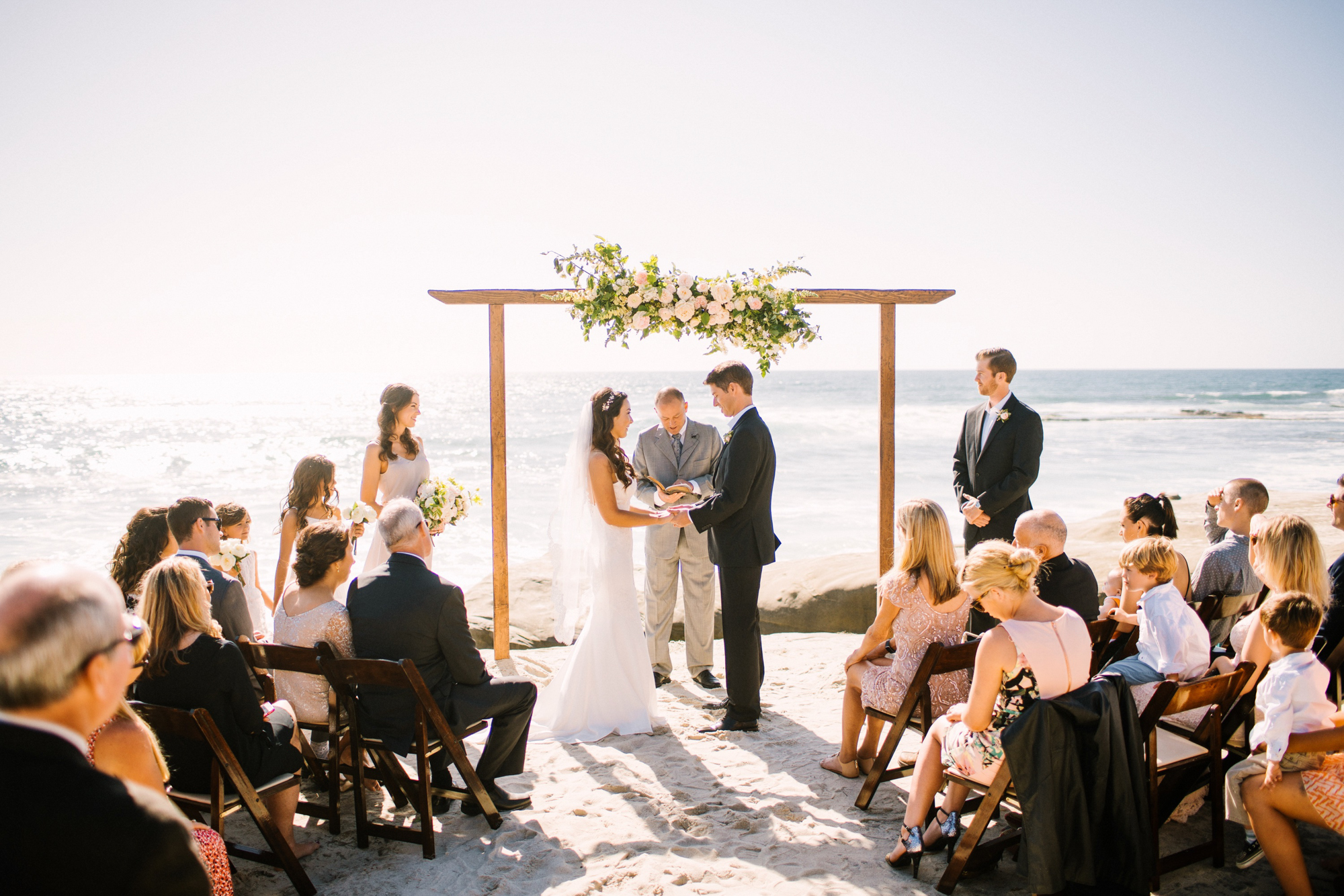 Chic & Simple Oceanfront Wedding - Olive Willow Designs