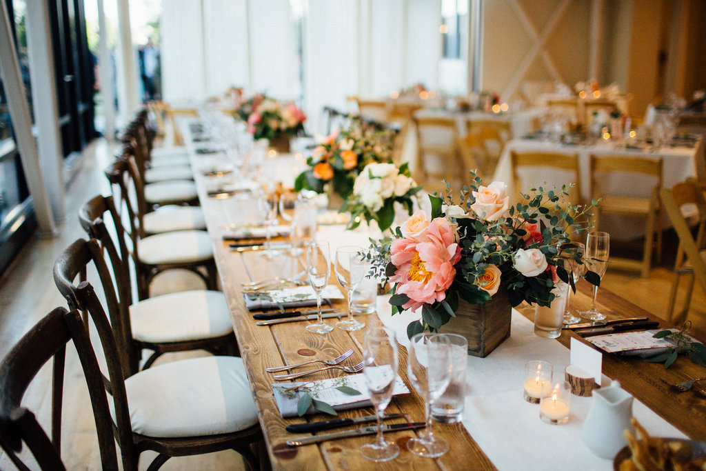 Garden Chic Wedding at Greenhouse Loft - LK Events