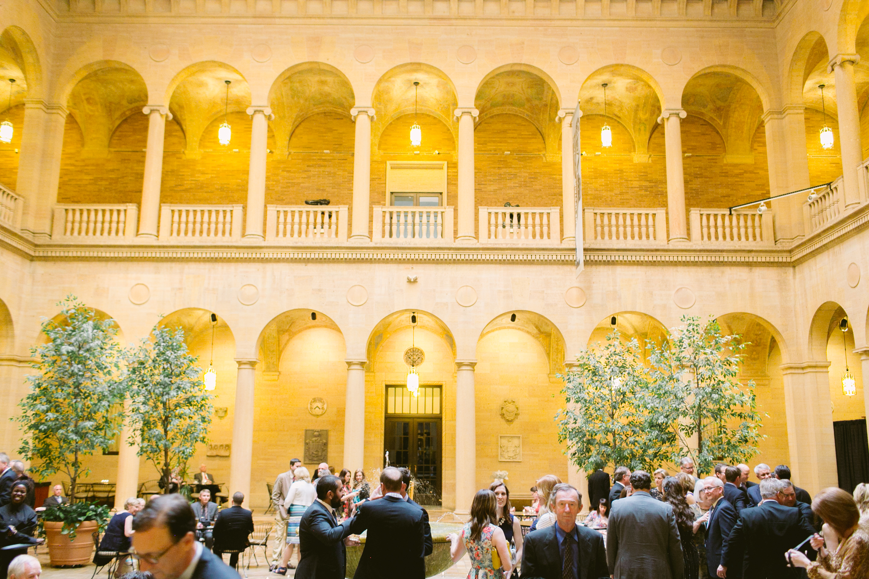 Garden Inspired Wedding at The Nelson Atkins Museum of Art - Madison Sanders Events