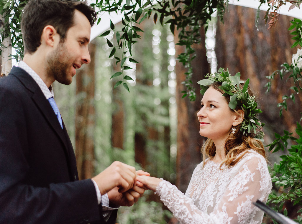 Rustic Outdoor Wedding - Laurel & Rose