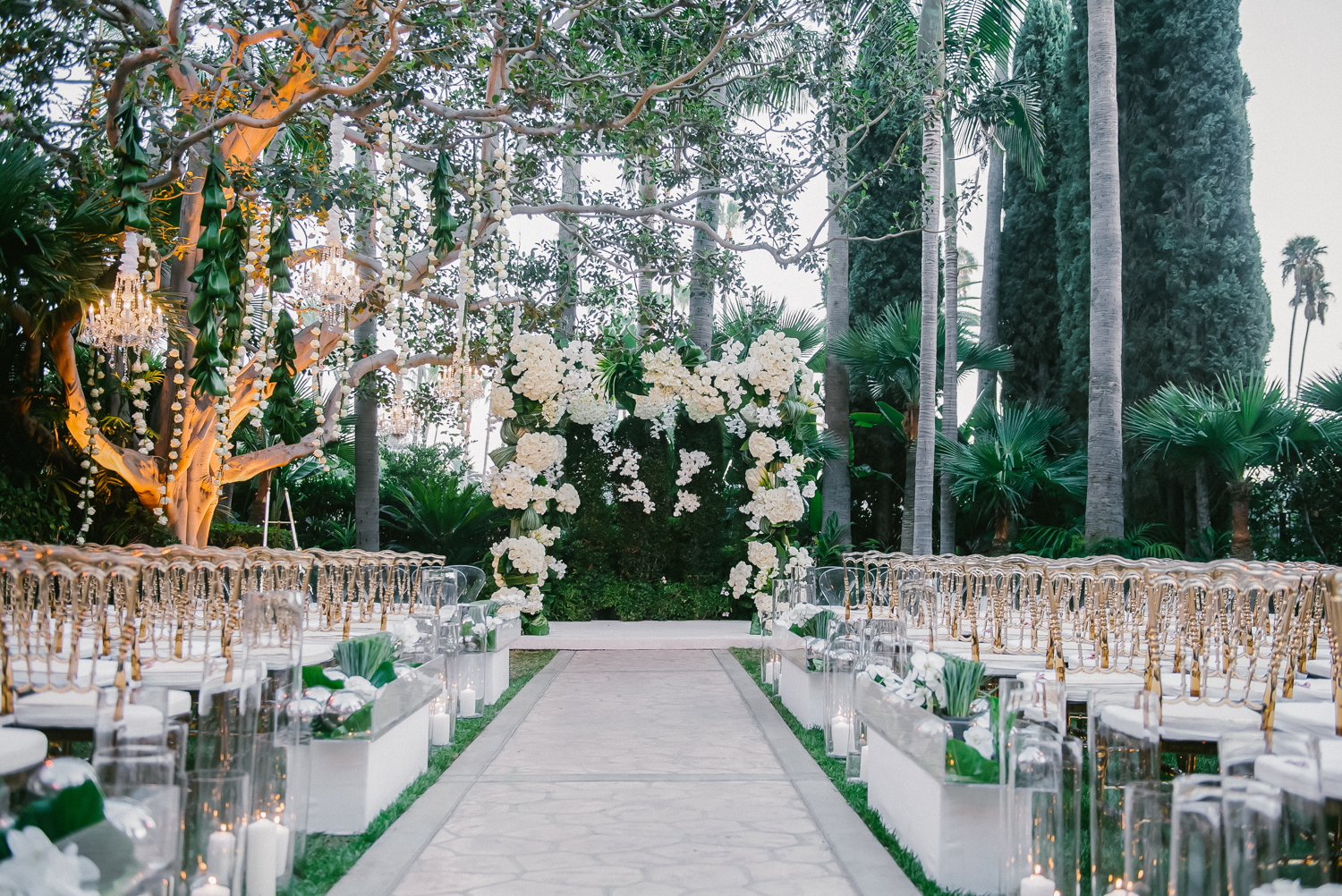 Classic Glamour Beverly Hills Wedding - Mindy Weiss Party Consultants