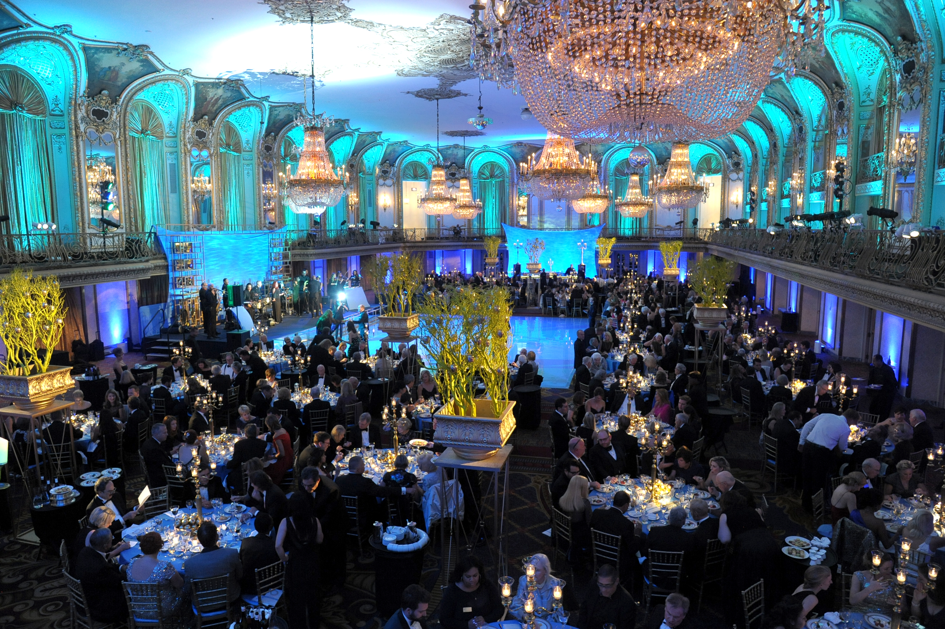 Chicago Lyric Opera, Opening Night Gala 2016 - HMR Designs