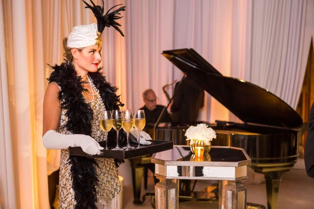 Great Gatsby 50th Birthday Party - Bliss Weddings & Events