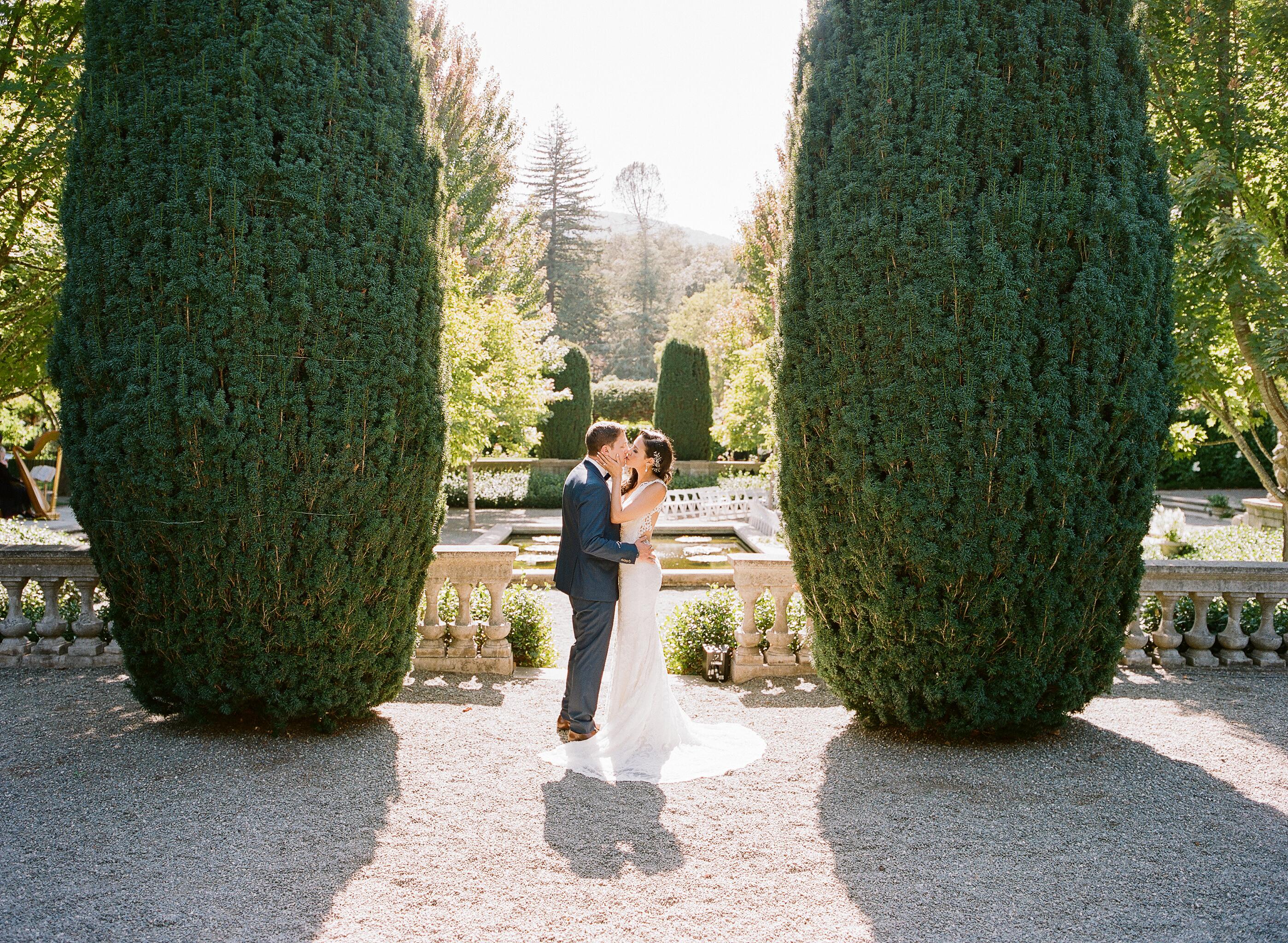Romantic Outdoor Wedding - Brown Paper Design