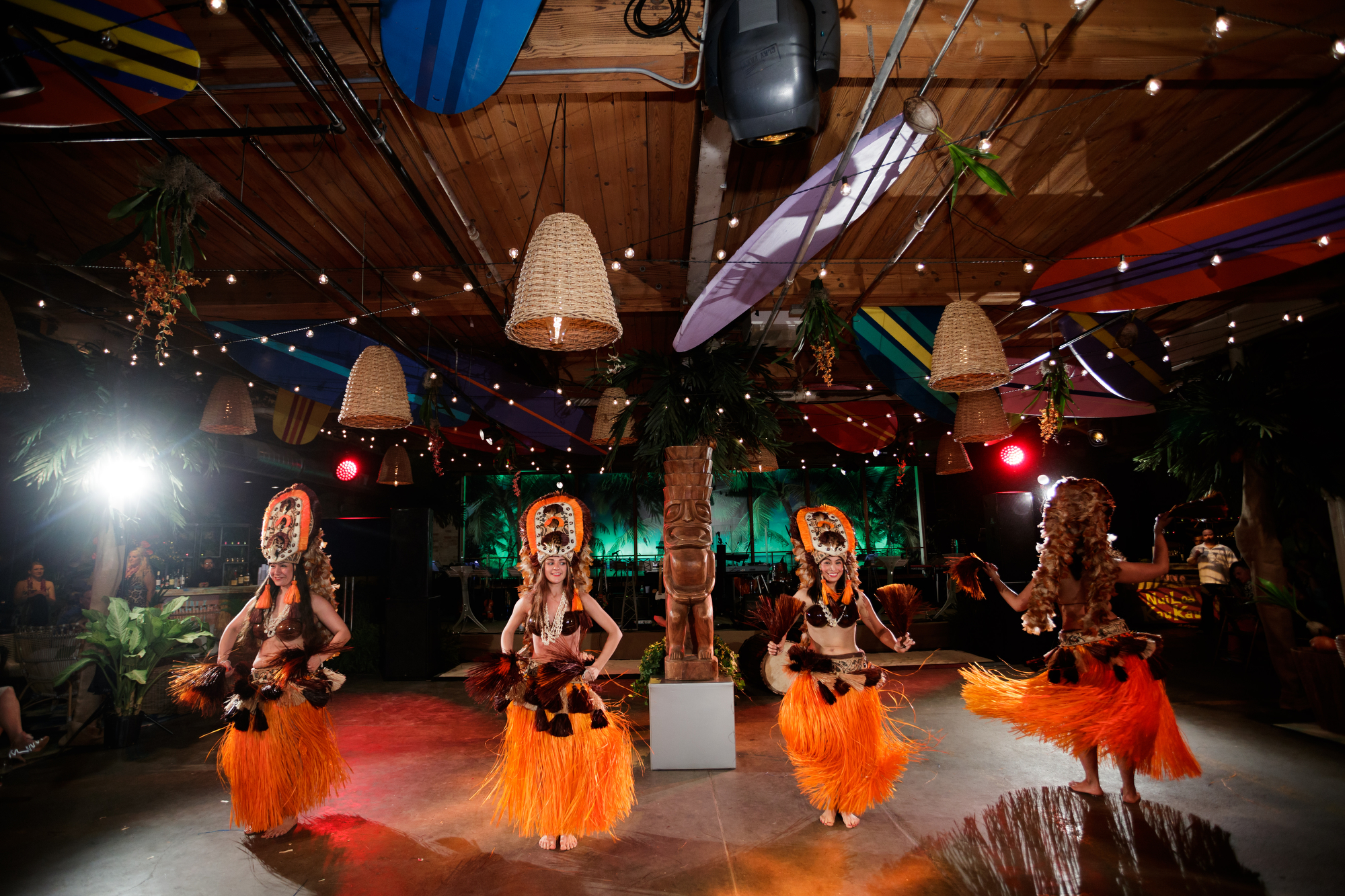 Hawaiian 65th Birthday | MCA Warehouse Chicago - Bob & Dawn Davis Photography & Design