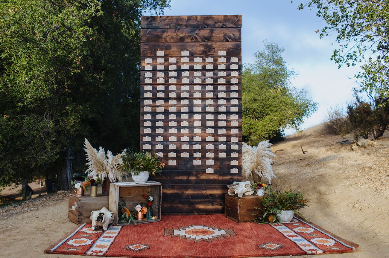 Vintage Bohemian Wedding - Wright Ranch Malibu