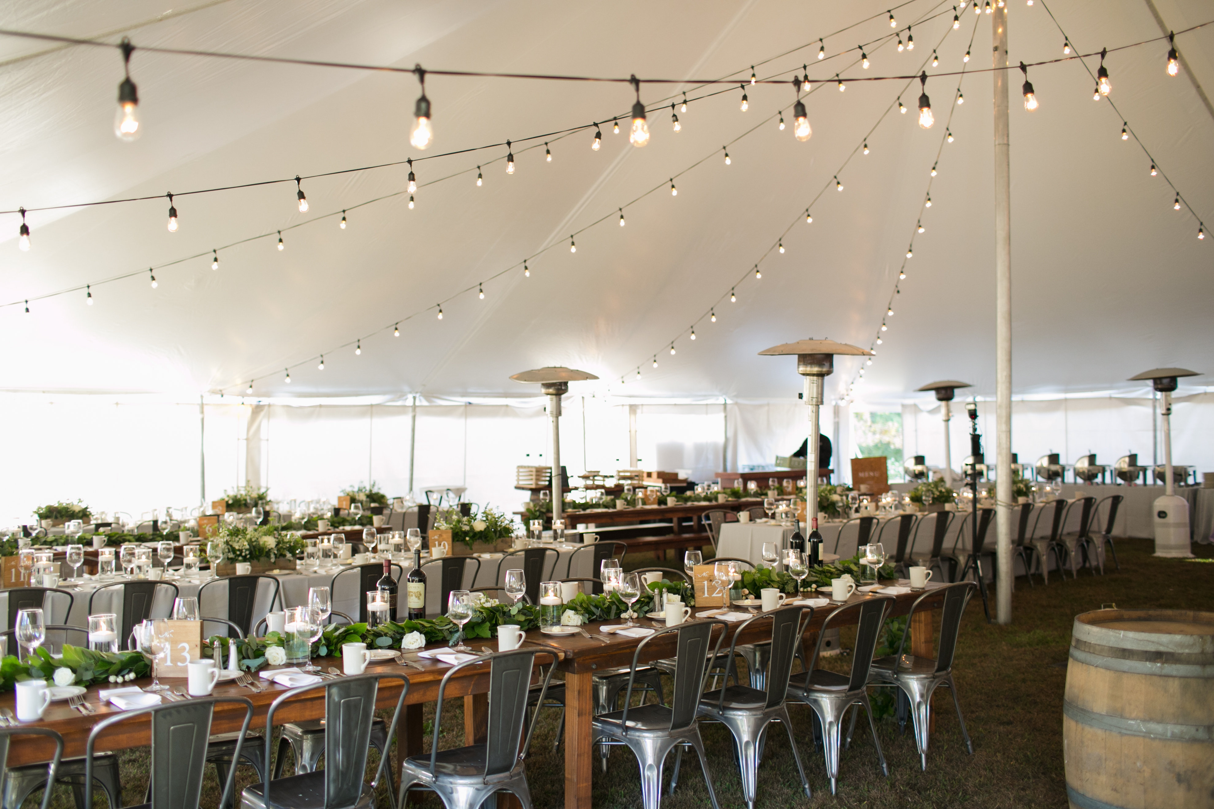Tented Wisconsin Wedding - LK Events