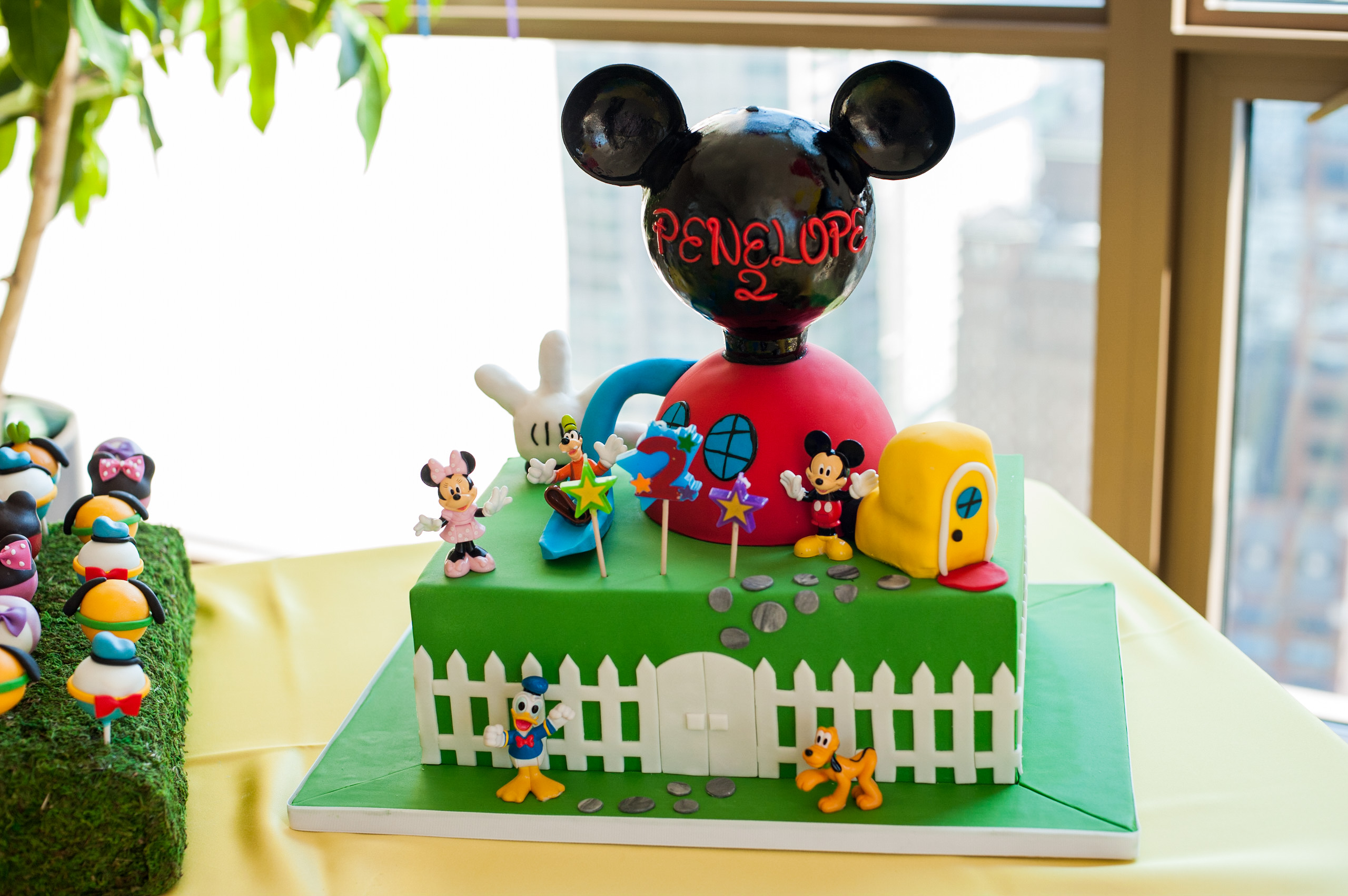 Mickey Mouse Clubhouse 2nd Birthday Party - LK Events
