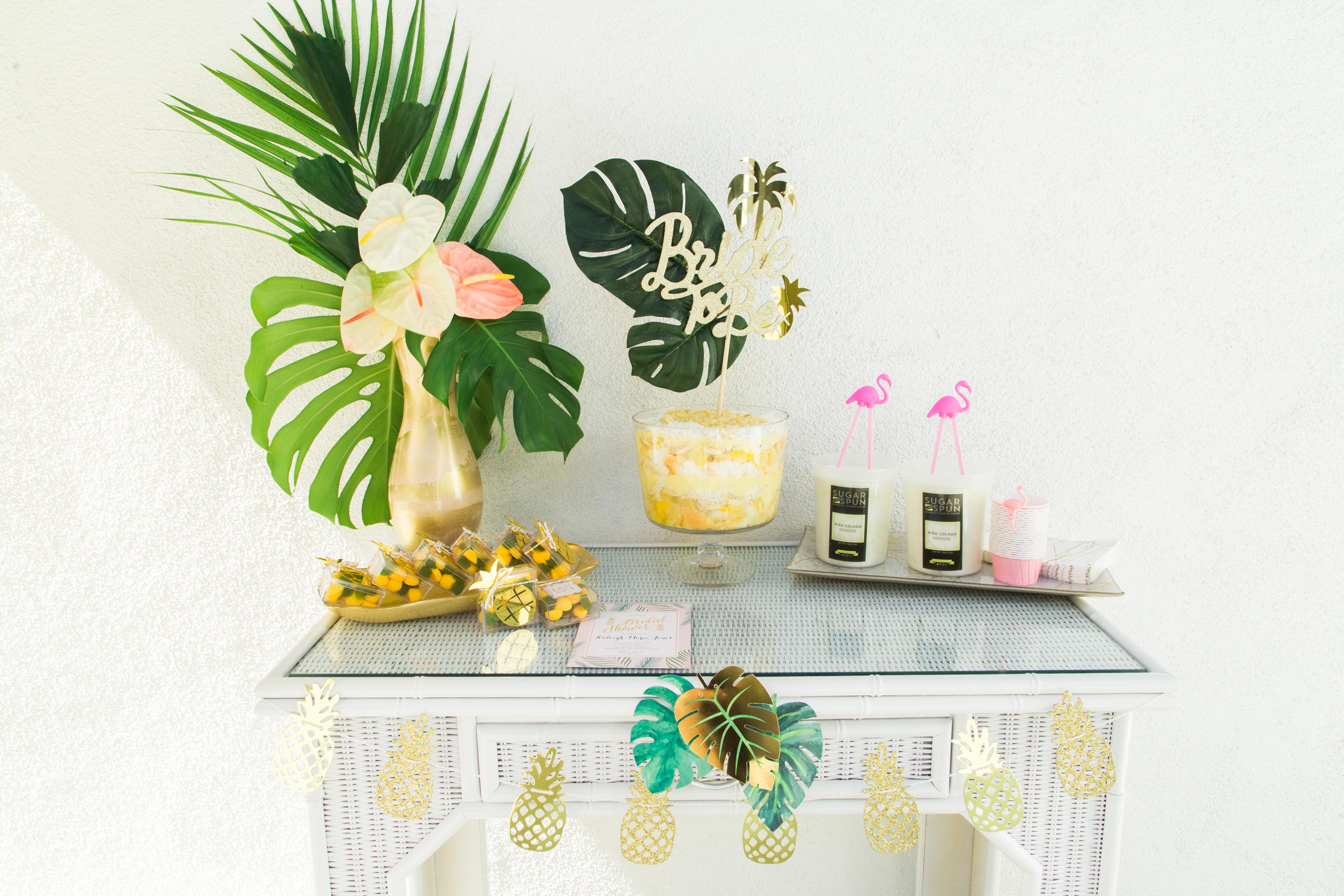 Tropical Bridal Bash - Ashley LaPrade Photography