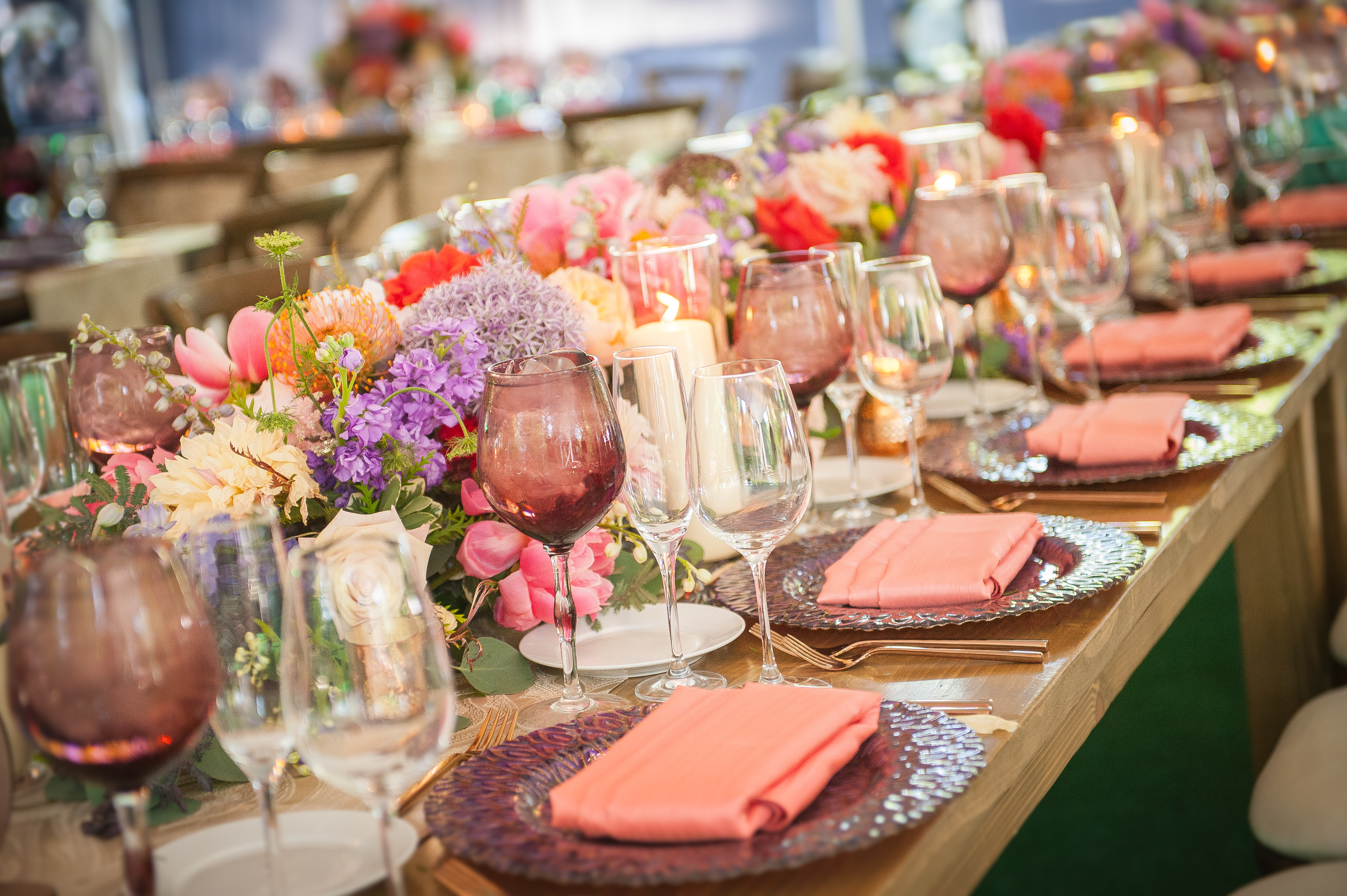 Refined Rustic Wedding - Inspired Catering & Events